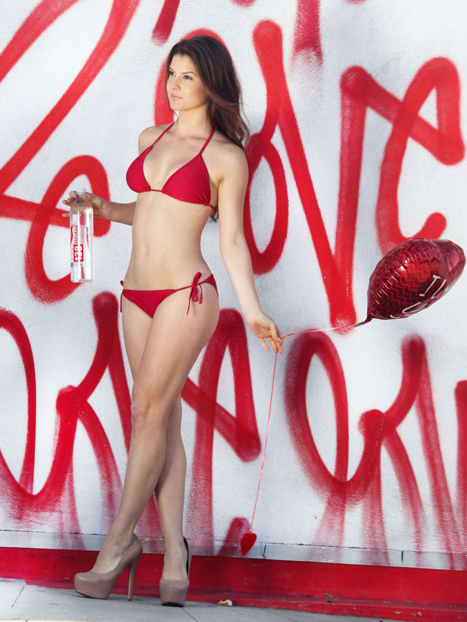 Amanda Cerny Water Valentines Day PhotoShoot