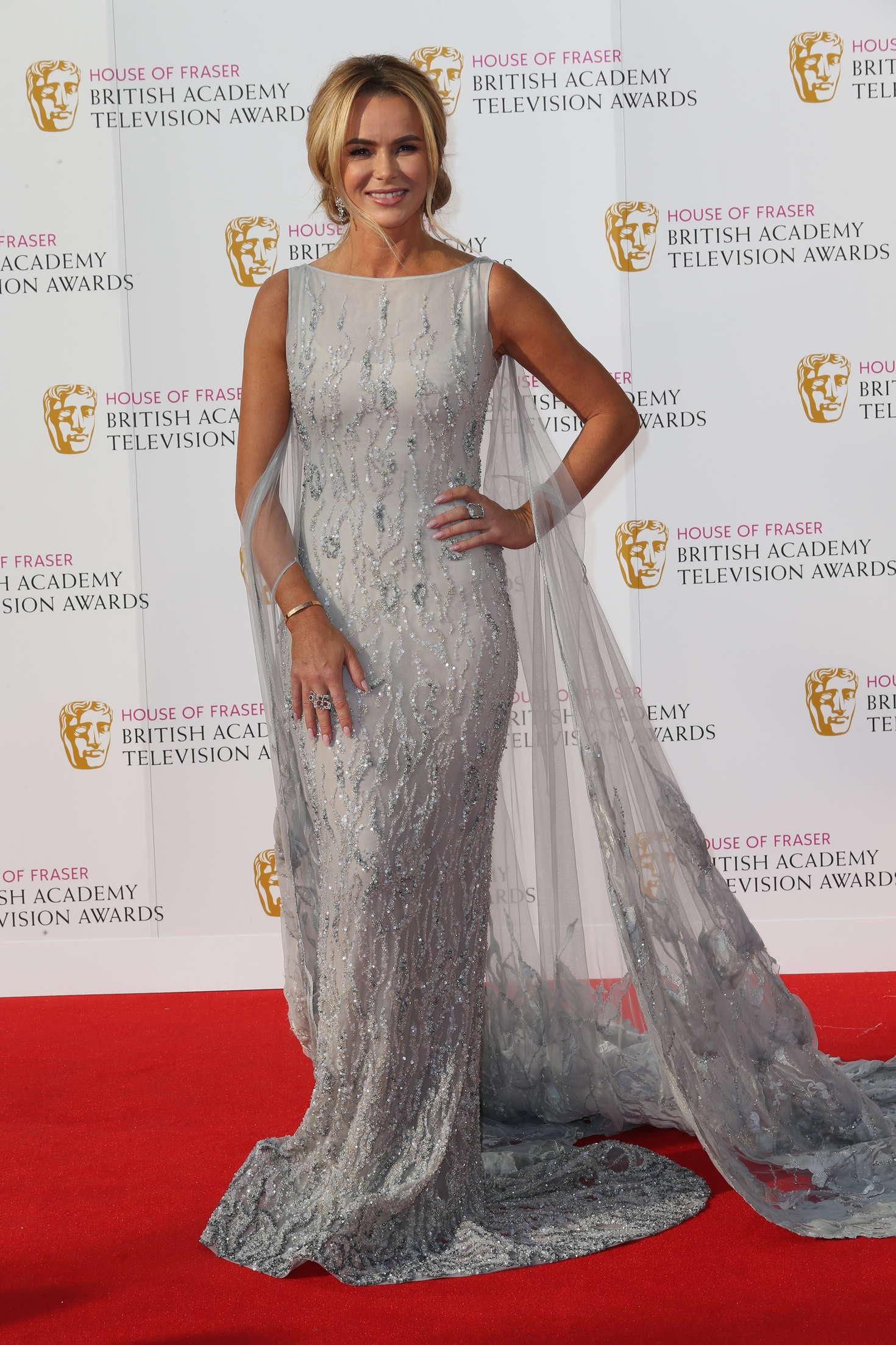 Amanda Holden BAFTA TV Awards in London