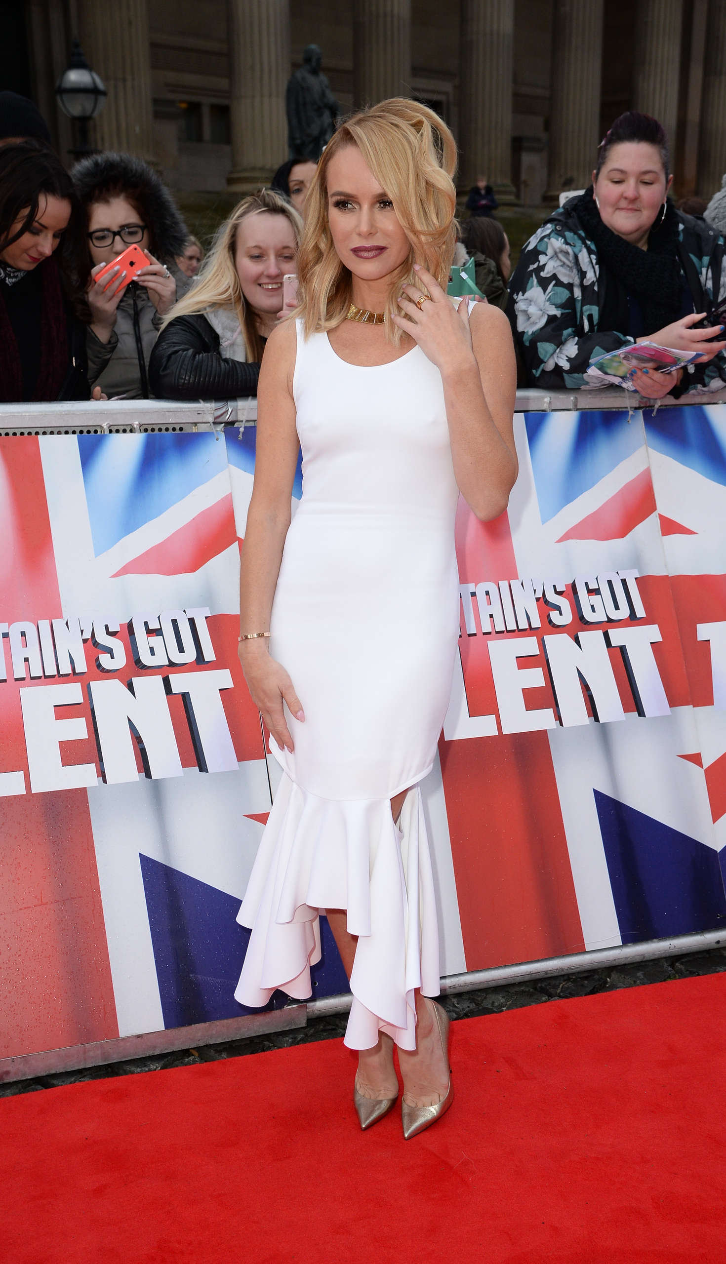 Amanda Holden Britains Got Talent Red Carpet Arrivals in Liverpool
