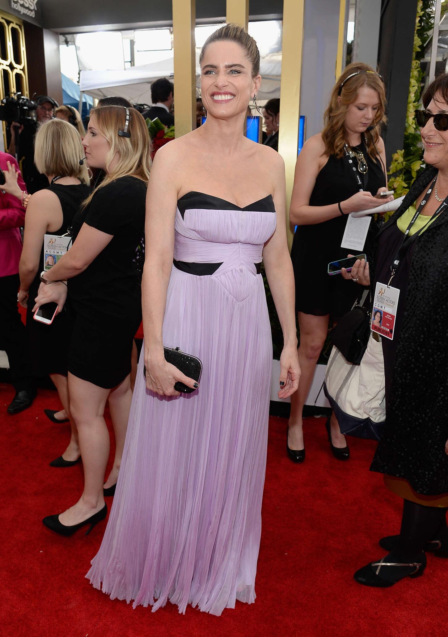 Amanda Peet Annual Screen Actors Guild Awards in Los Angeles