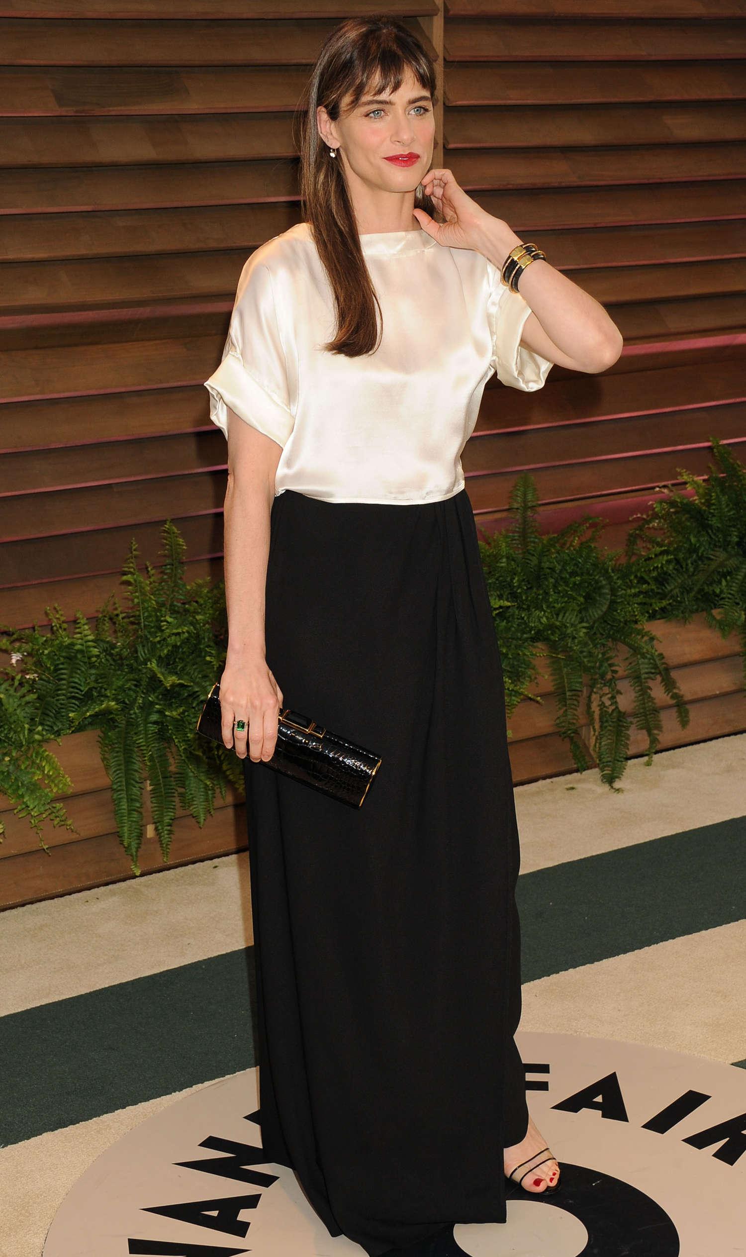 Amanda Peet Oscars Vanity Fair Party in West Hollywood
