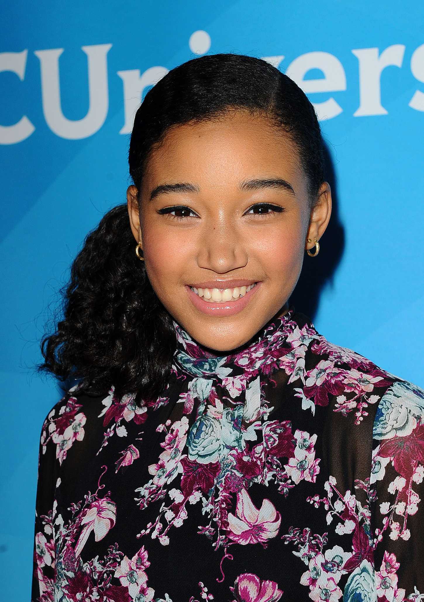 Amandla Stenberg NBCUniversal Summer Press Day in Pasadena