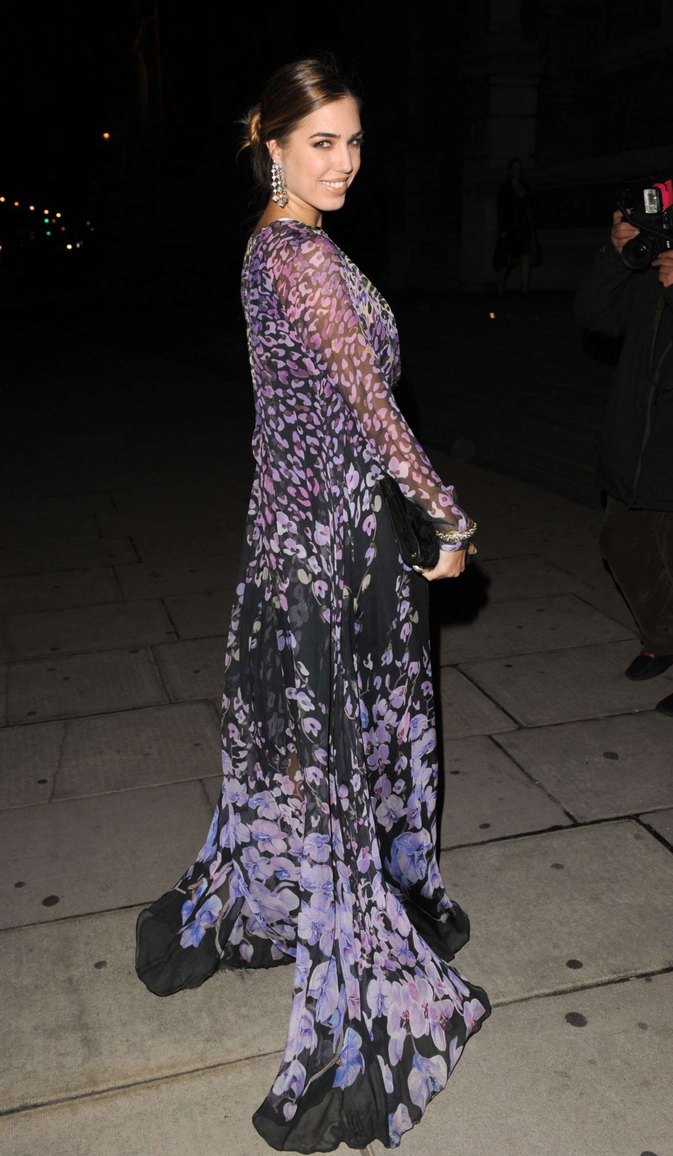 Amber Le Bon Tunnel Of Love Fundraiser at the Victoria Albert Museum in London