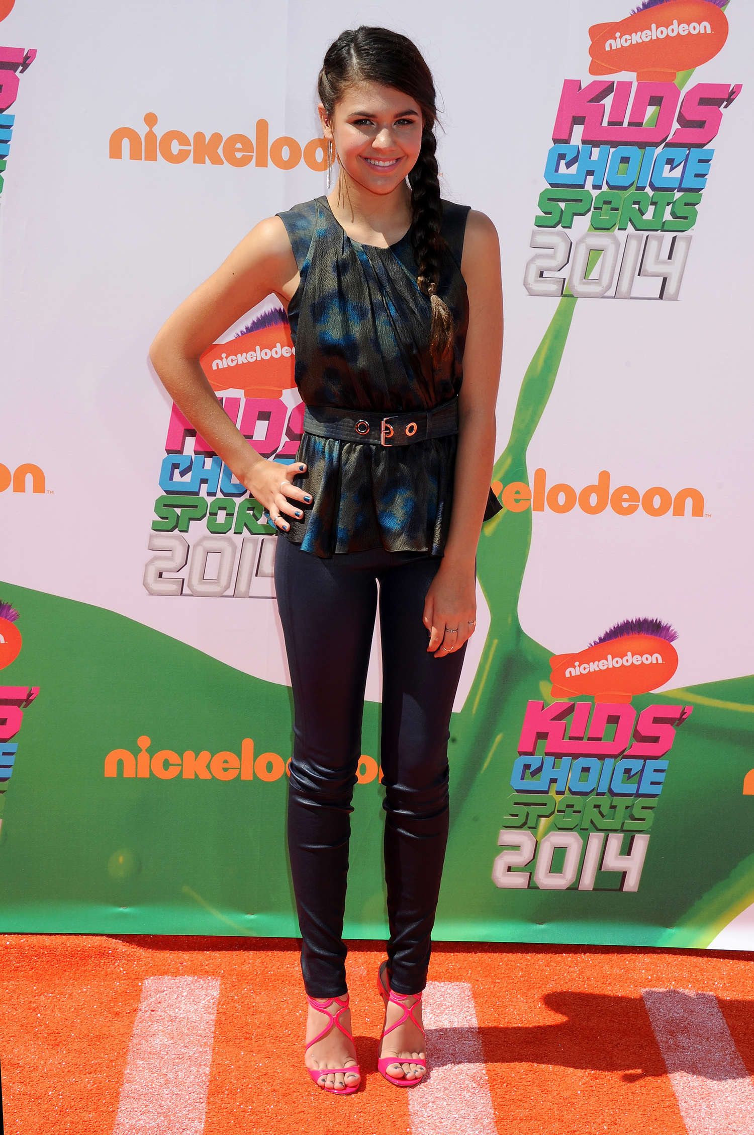 Amber Montana Nickelodeon Kids Choice Sports Awards in Los Angeles