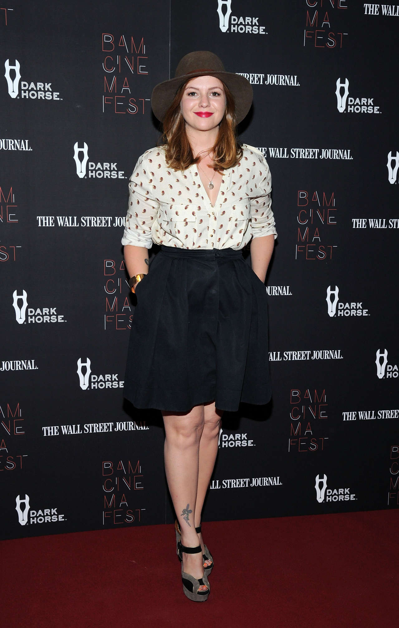 Amber Tamblyn Boyhood opening night screening in New York