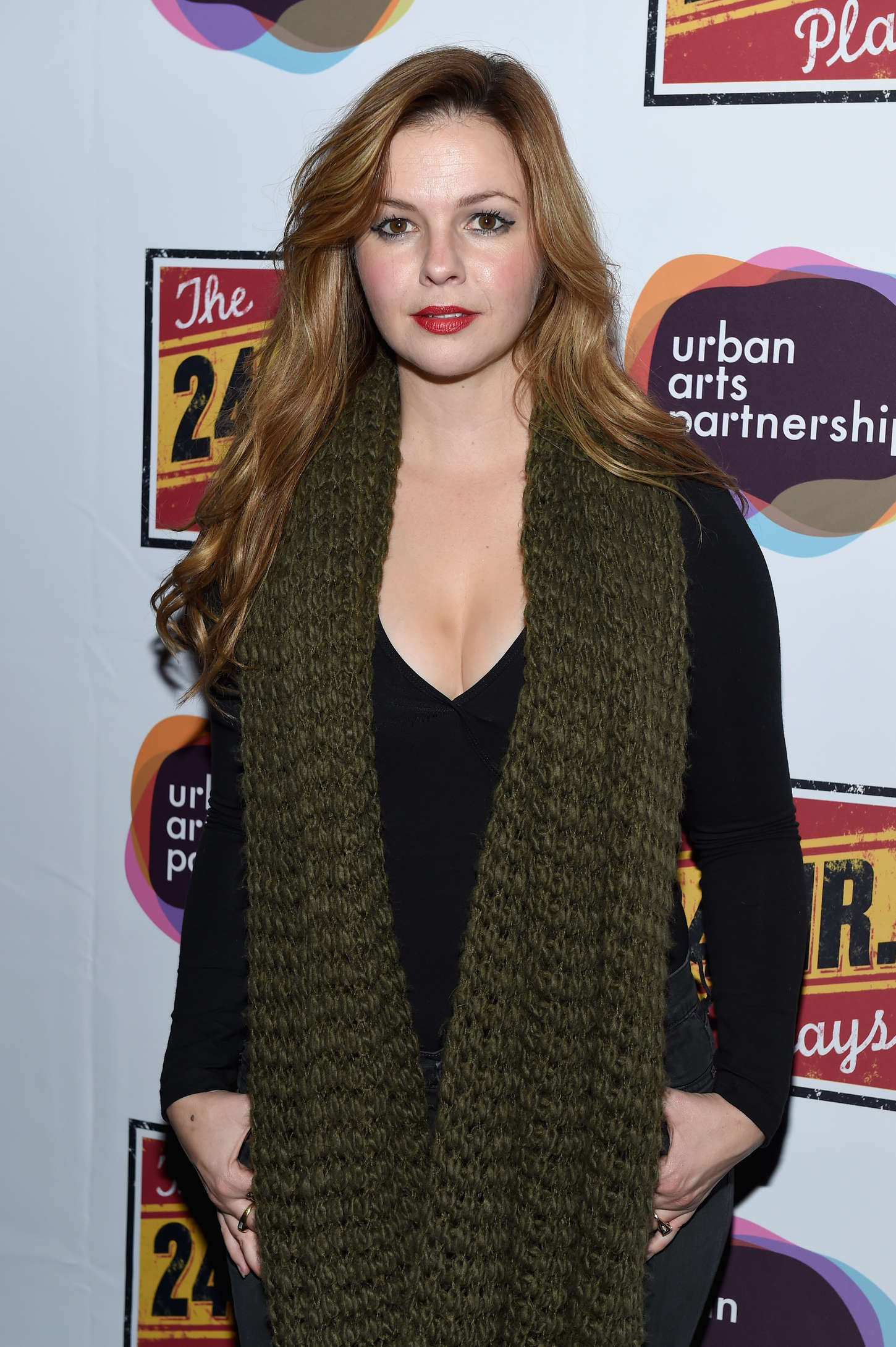 Amber Tamblyn Hour Plays On Broadway Gala After Party in New York