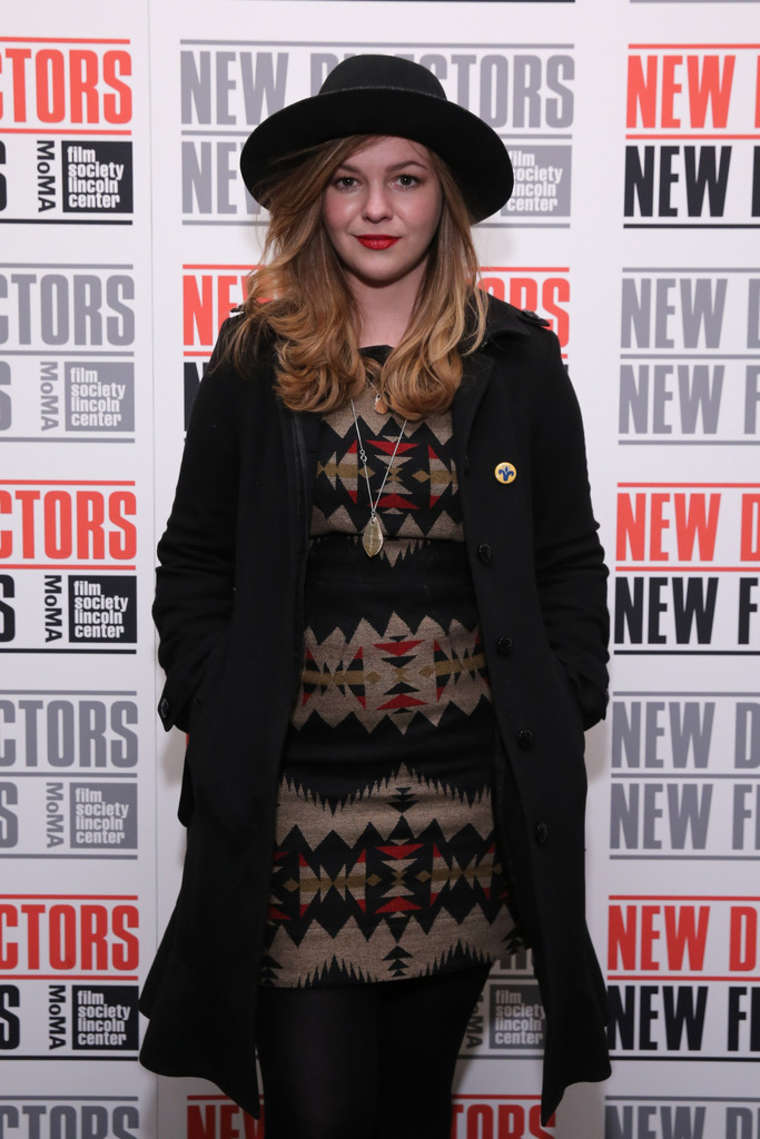 Amber Tamblyn New Directors New Films Opening Night Gala in New York