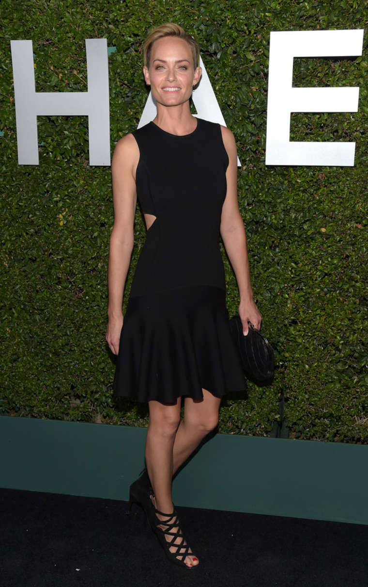 Amber Valletta Claiborne Swanson Franks Book Launch in Beverly Hills