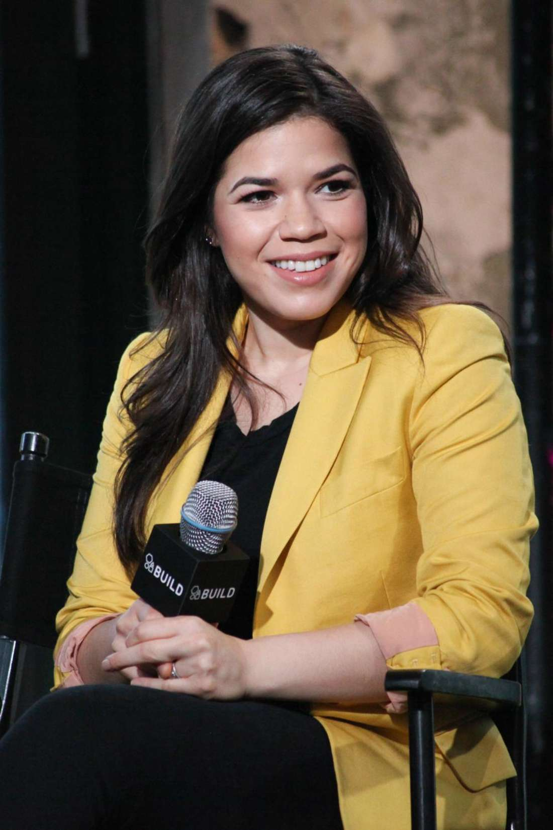 America Ferrera AOL Build Speaker Series Event in New York City