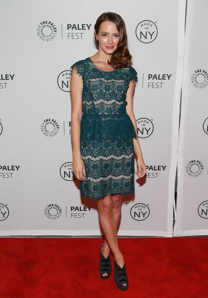 Amy Acker PaleyFest Person of Interest panel