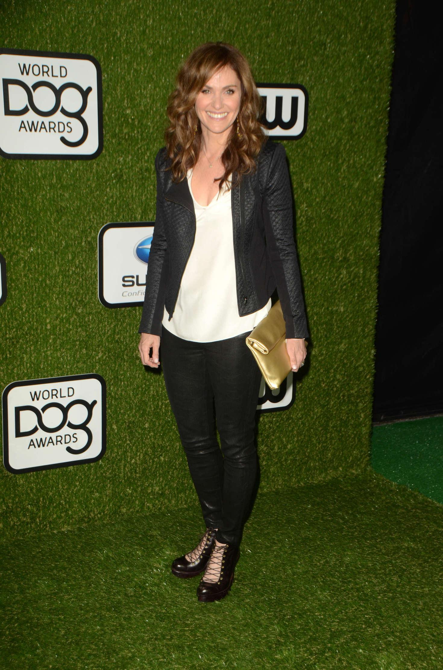 Amy Brenneman World Dog Awards in Santa Monica