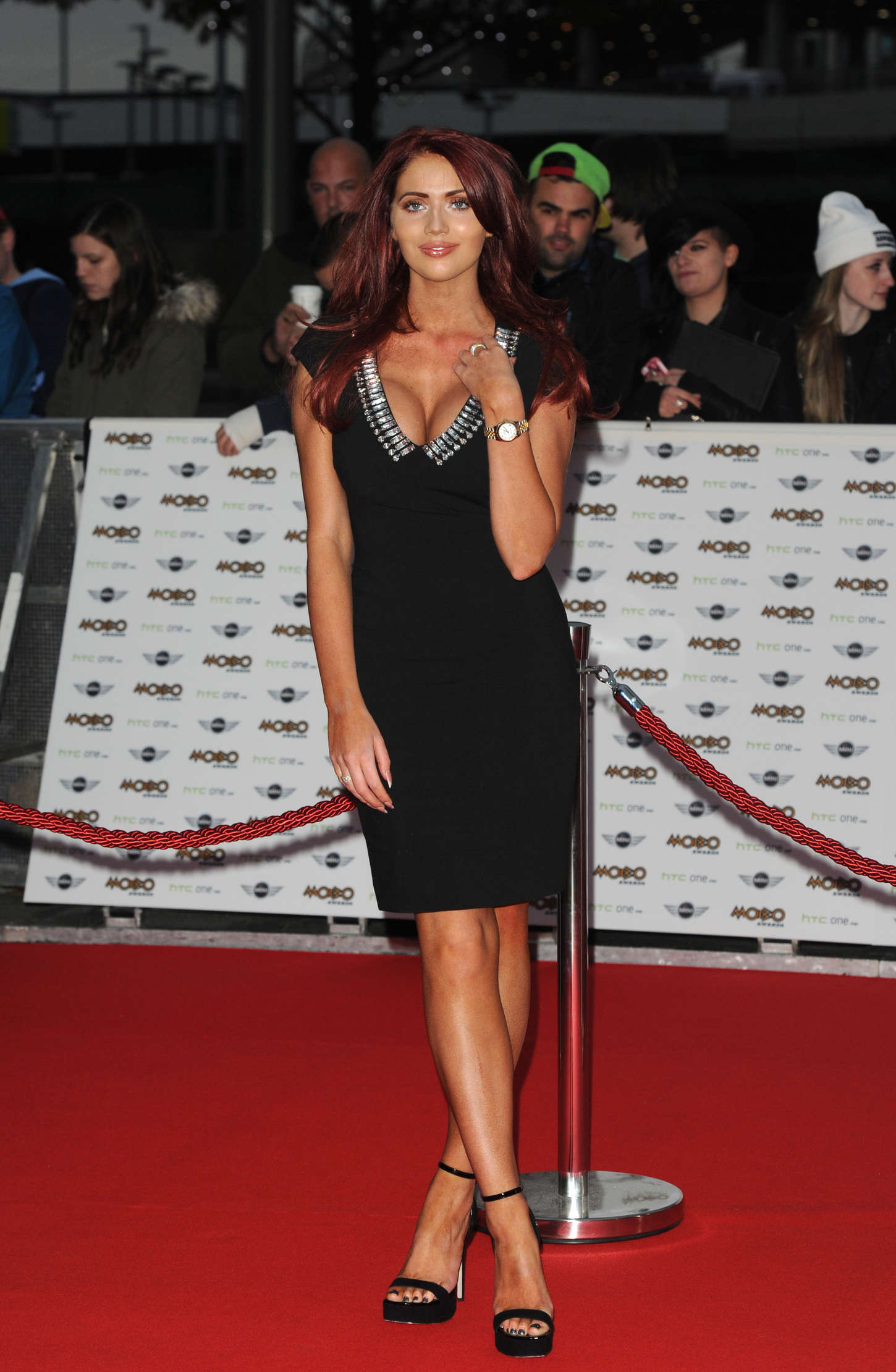 Amy Childs MOBO Awards in London