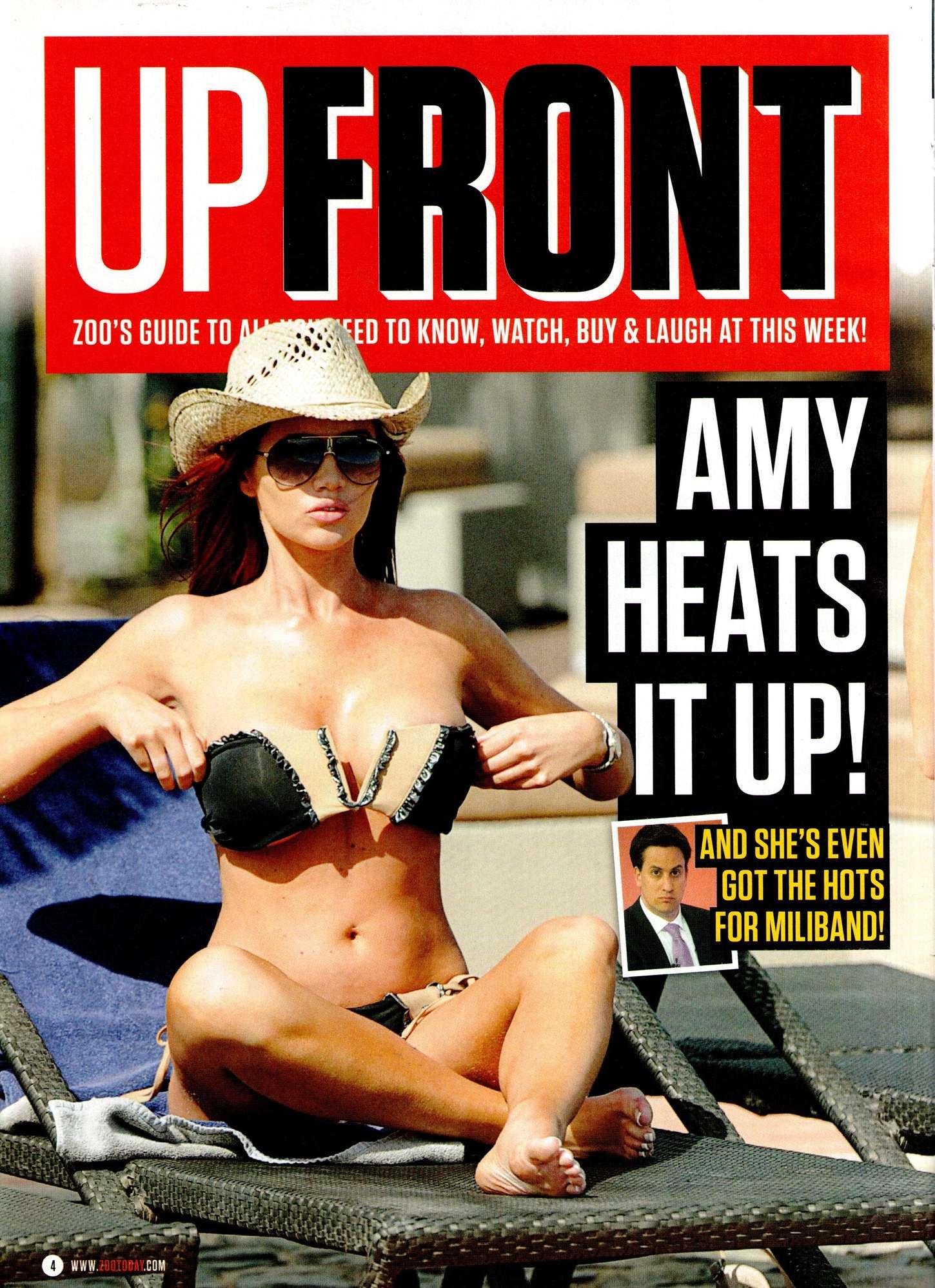 Amy Childs UPFRONT ZOO Magazine