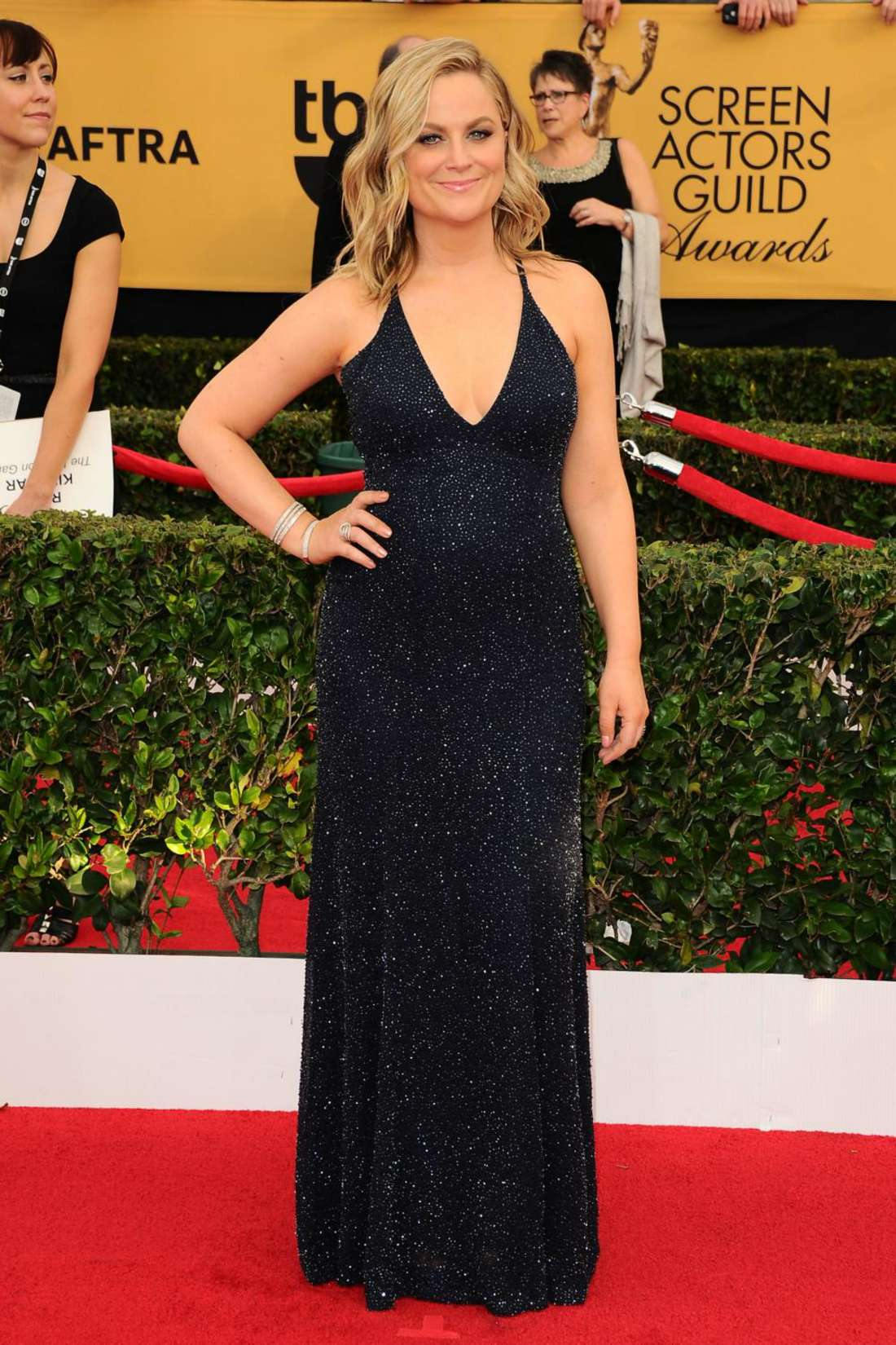 Amy Poehler Annual Screen Actors Guild Awards in Los Angeles