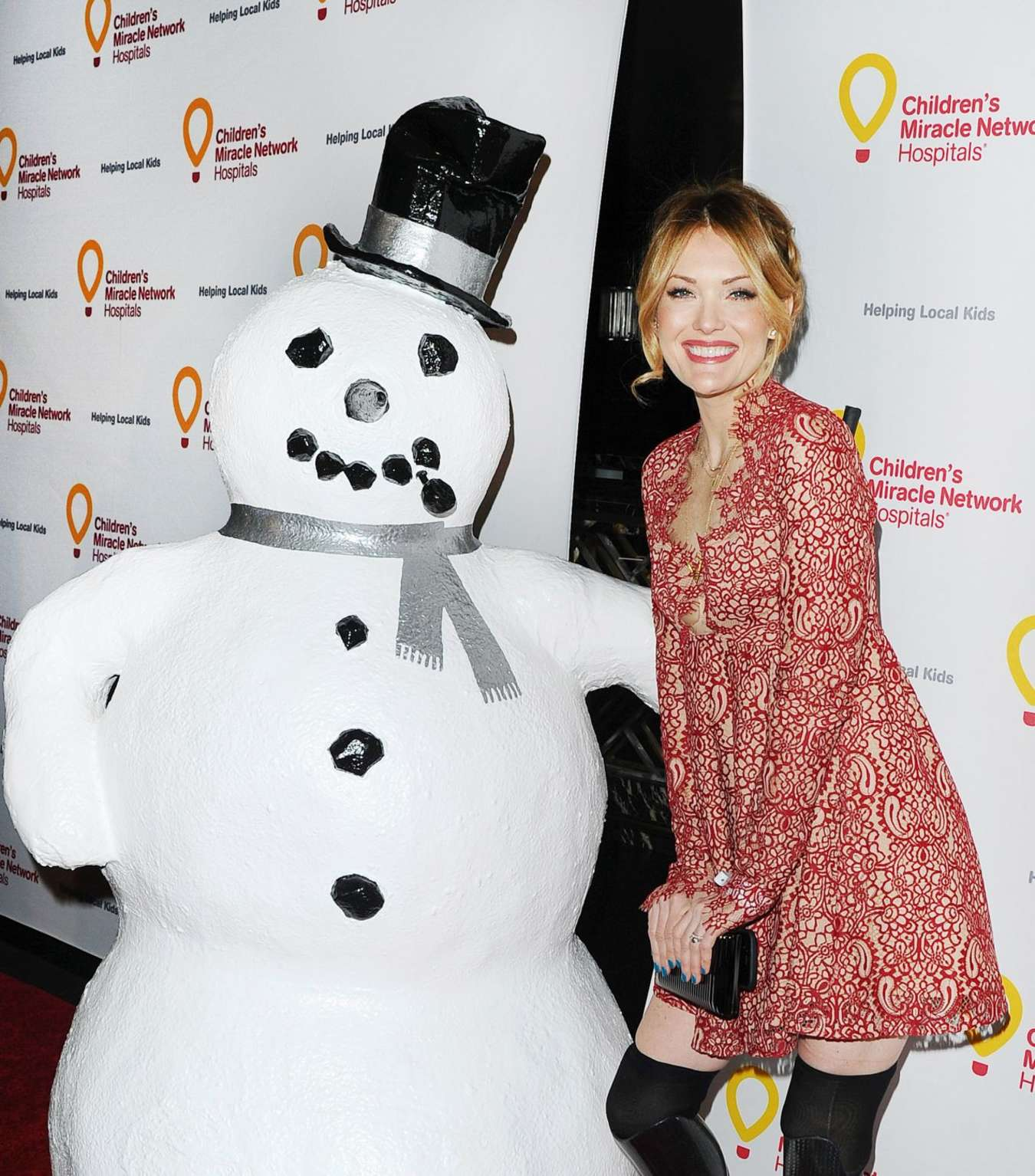 Amy Purdy Childrens Miracle Network Hospitals Winter Wonderland Ball in Hollywood