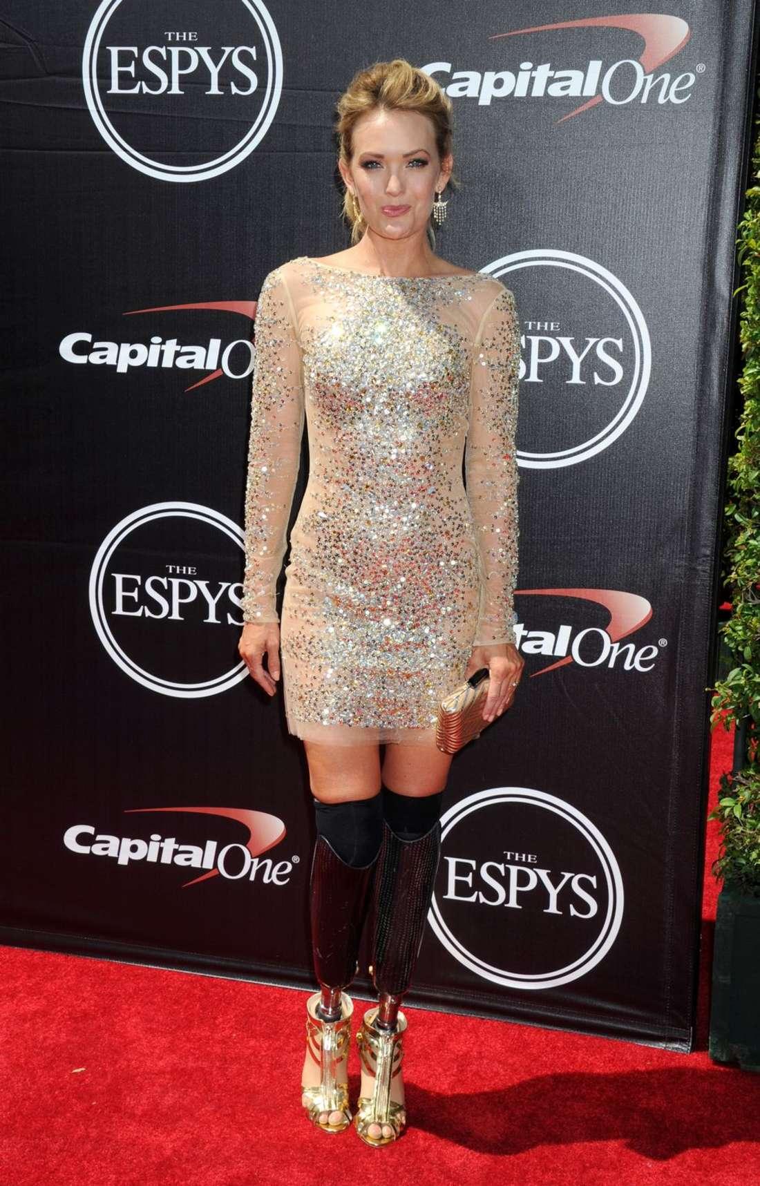 Amy Purdy ESPYS in Los Angeles