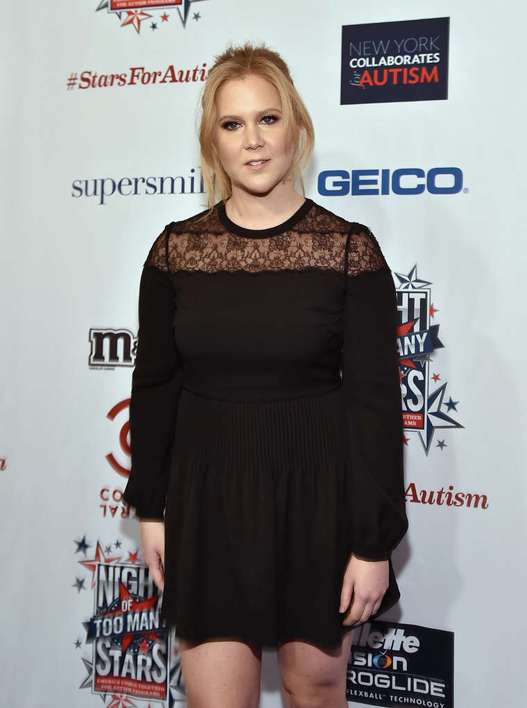 Amy Schumer Comedy Central Night Of Too Many Stars in New York