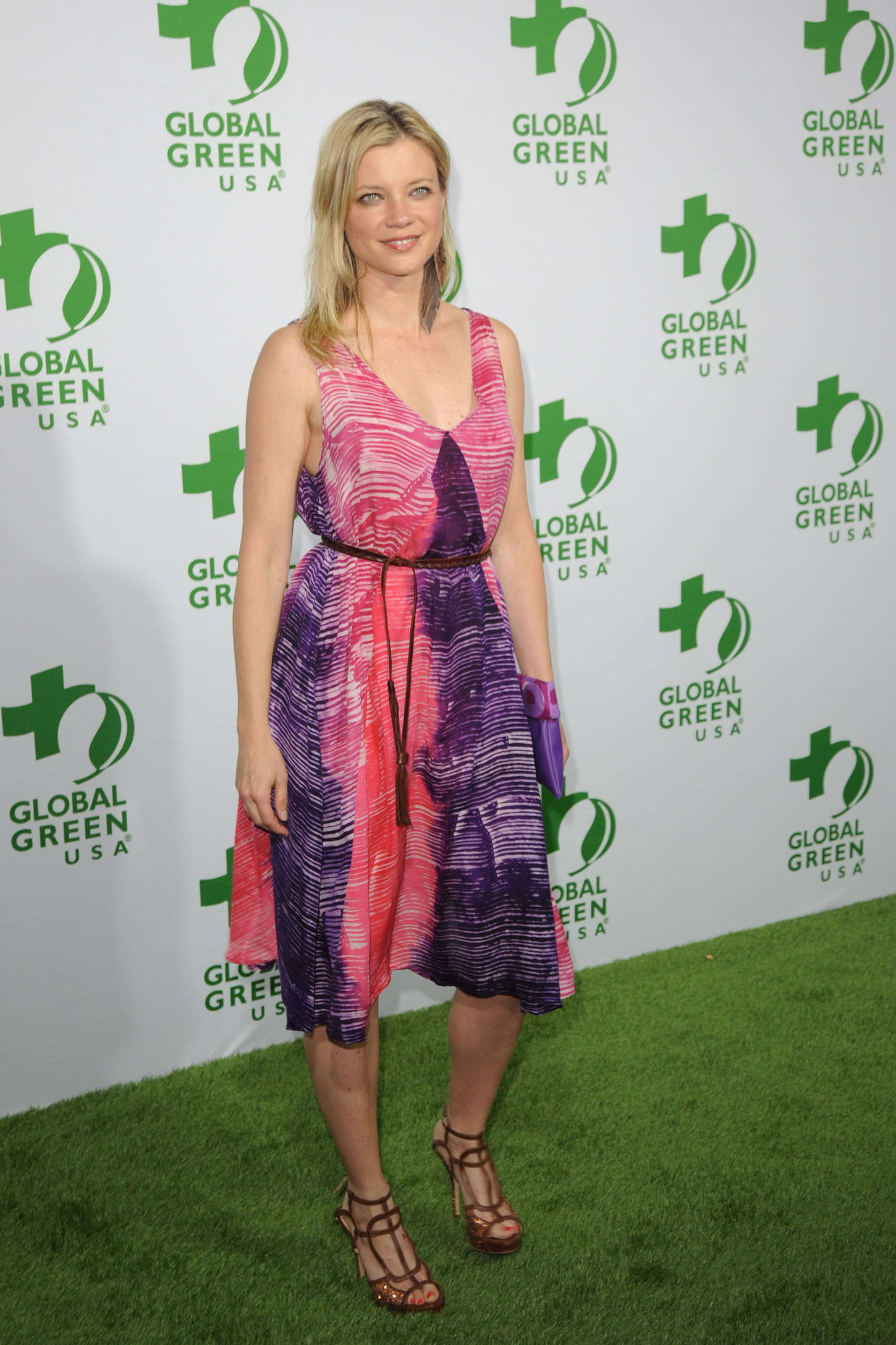 Amy Smart Global Green USA's Annual Pre-Oscar Party in Los Angeles