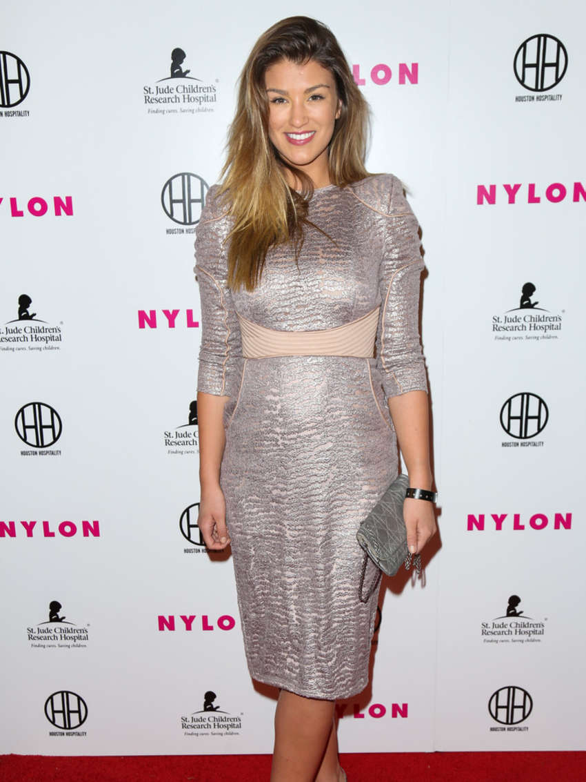 Amy Willerton NYLON Magazines Muses And Music Party in Los Angeles