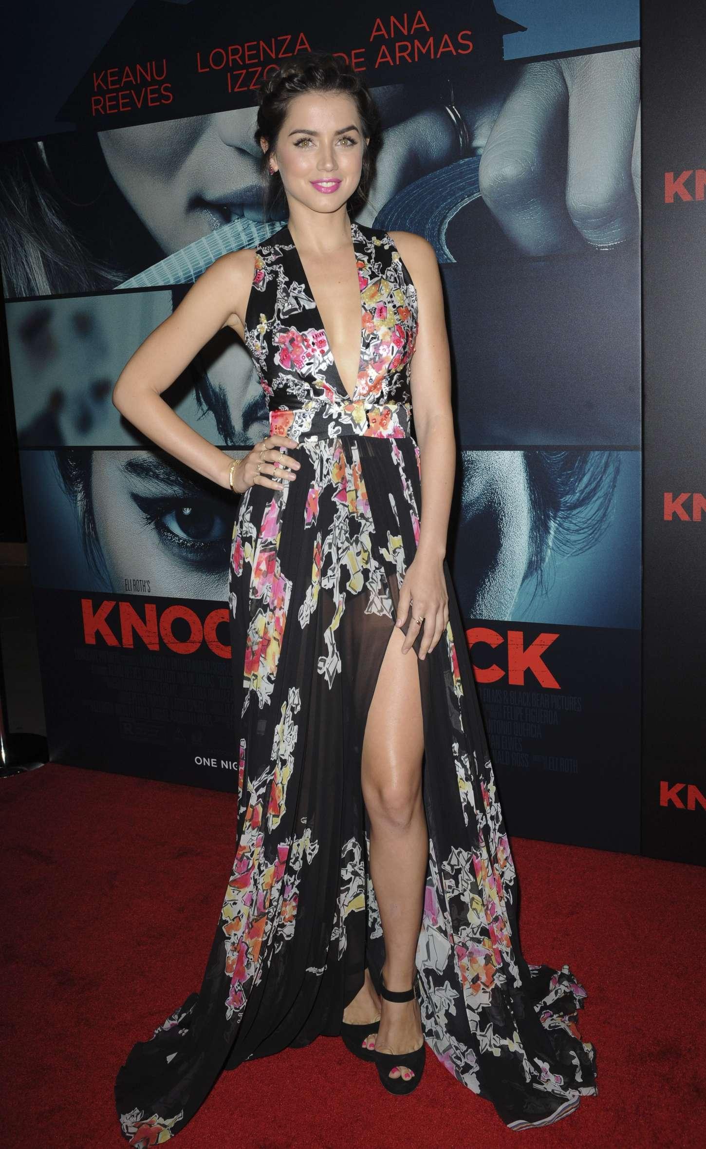 Ana de Armas Knock Knock Premiere in Hollywood