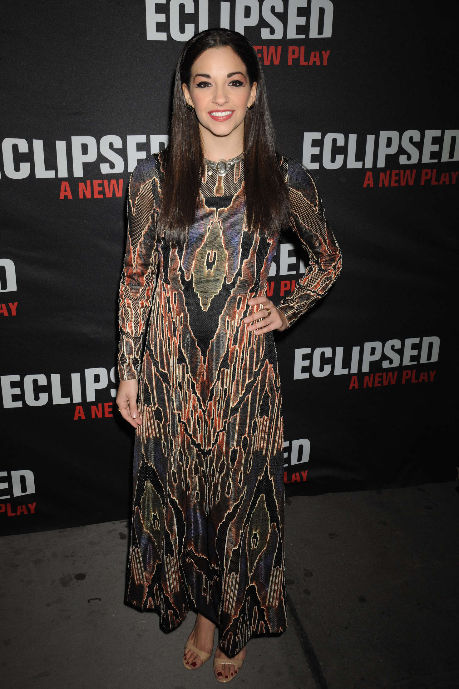 Ana Villafane Eclipsed Broadway Opening Night in New York