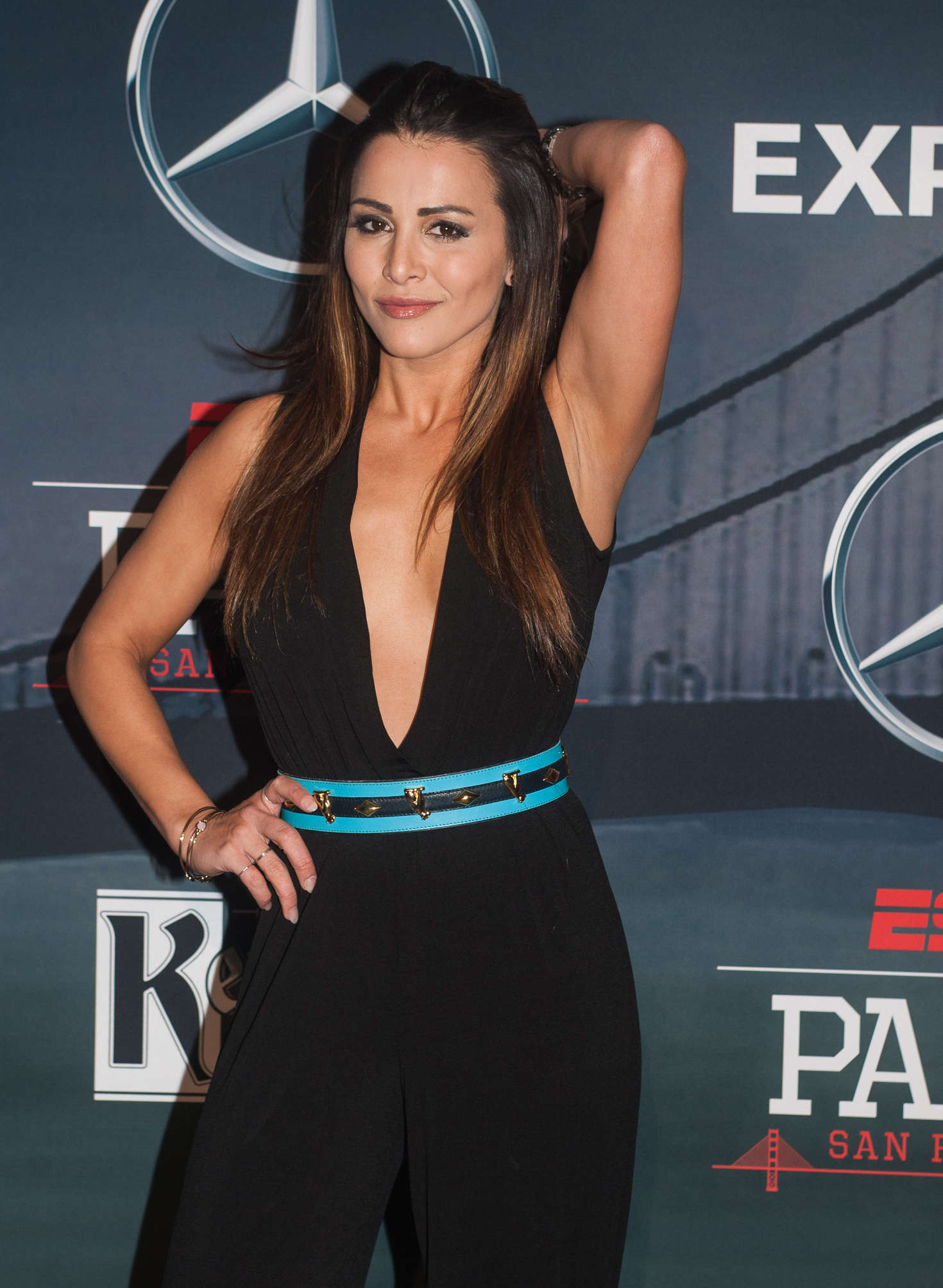 Andi Dorfman Annual ESPN The Party For Super Bowl in San Francisco