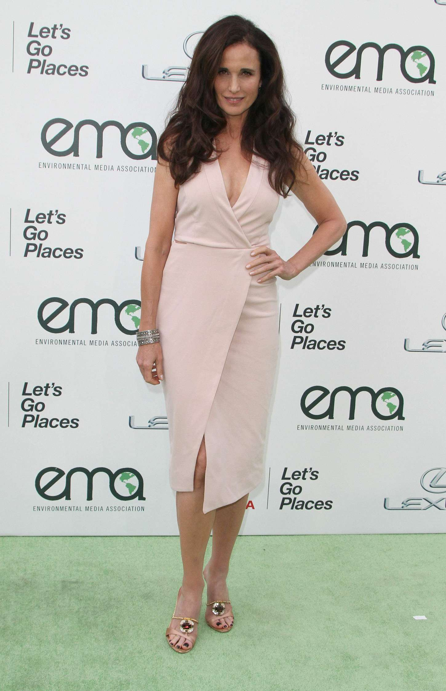 Andie MacDowell Annual EMA Awards in Burbank