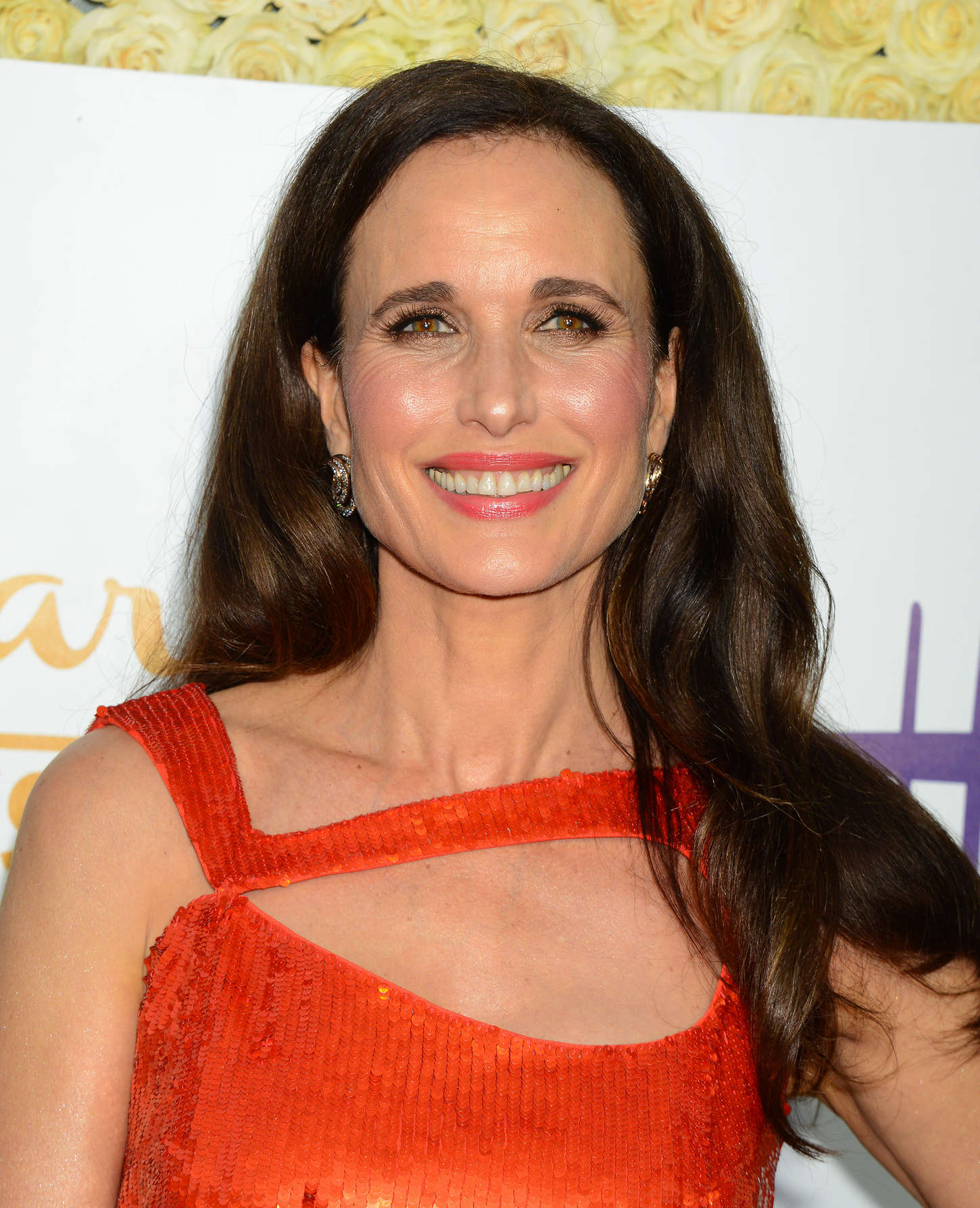 Andie MacDowell Hallmark Channel and Hallmark Movies and Mysteries Summer TCA Tour in Beverly Hills
