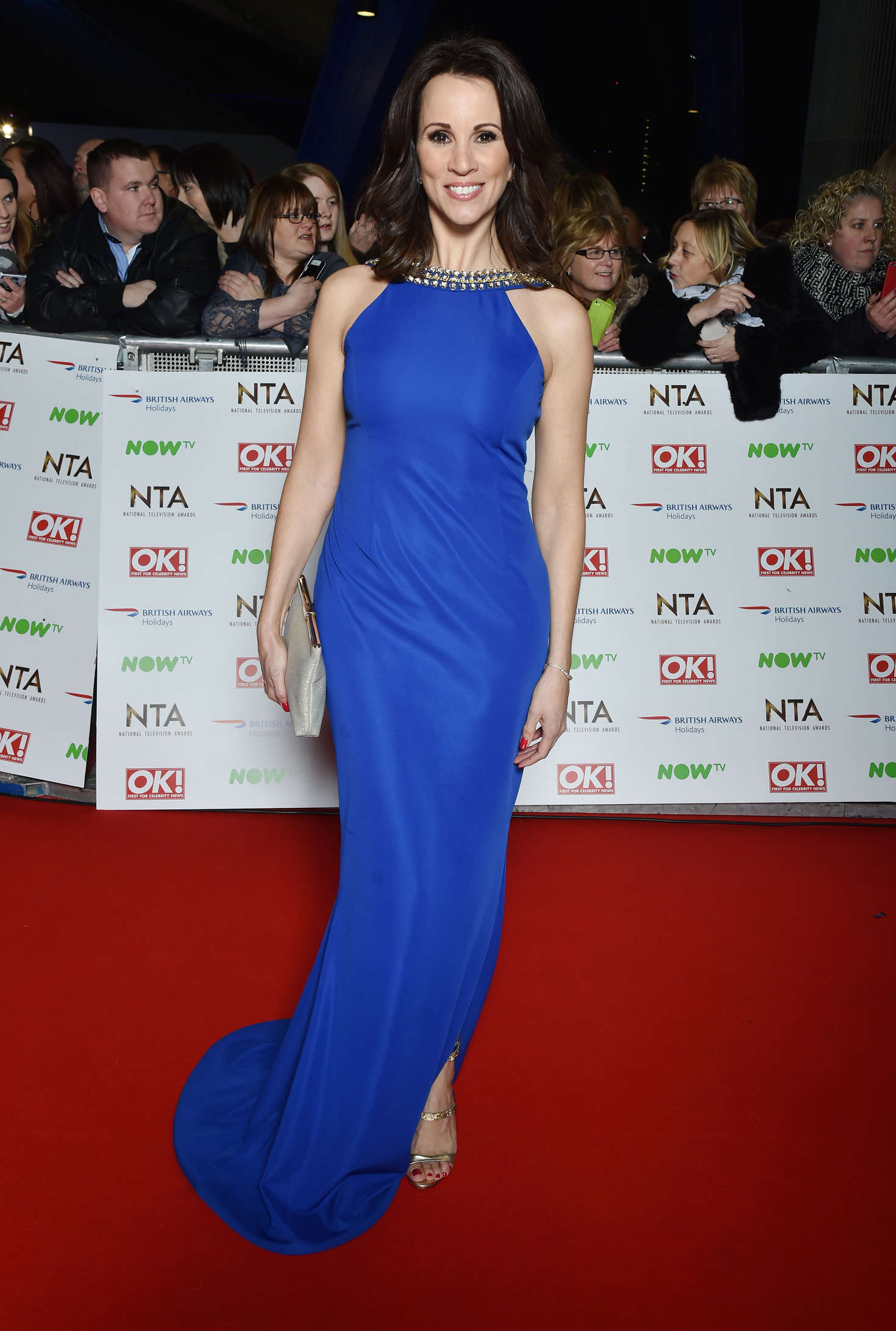 Andrea McLean National Television Awards in London