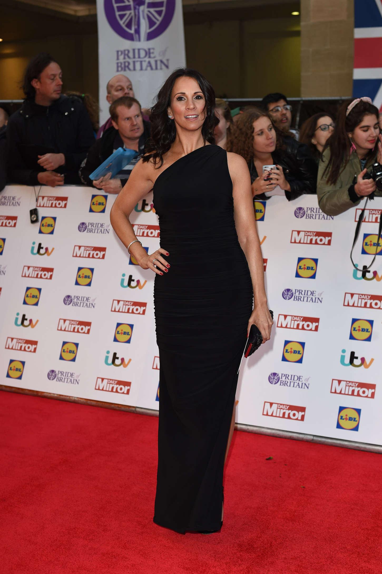 Andrea McLean Pride of Britain Awards in London