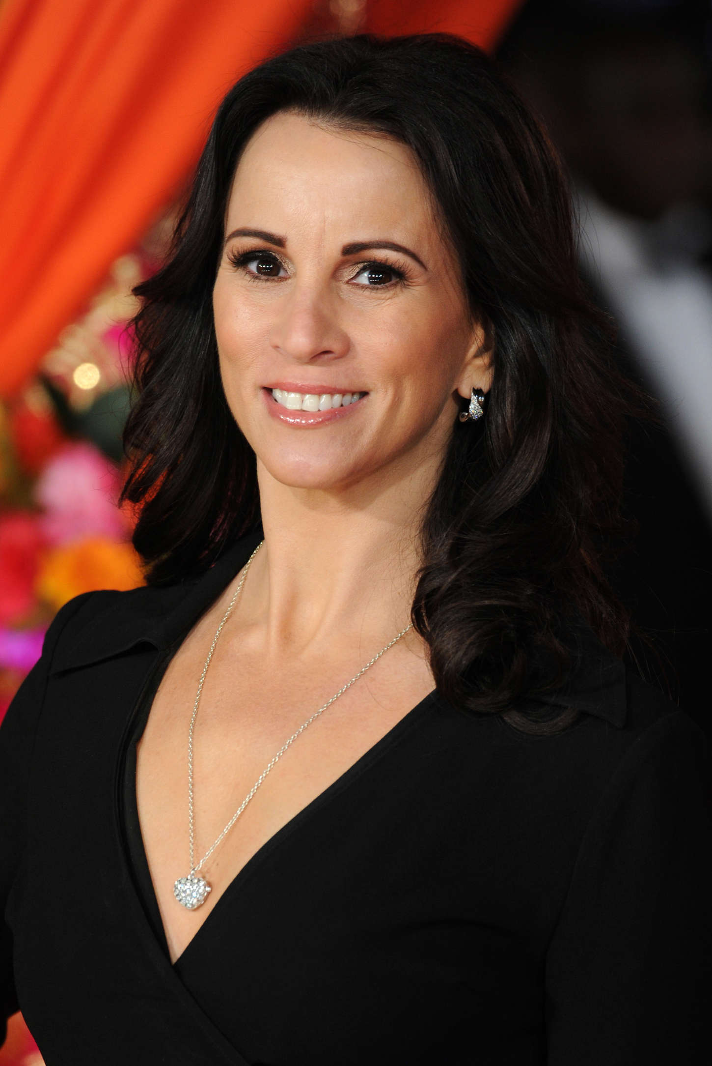 Andrea McLean Royal Performance Premiere of The Second Best Exotic Marigold Hotel in London