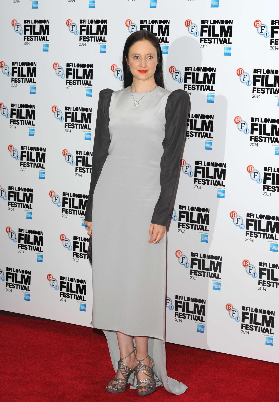 Andrea Riseborough Premiere Silent Storm at BFI London Film Festival