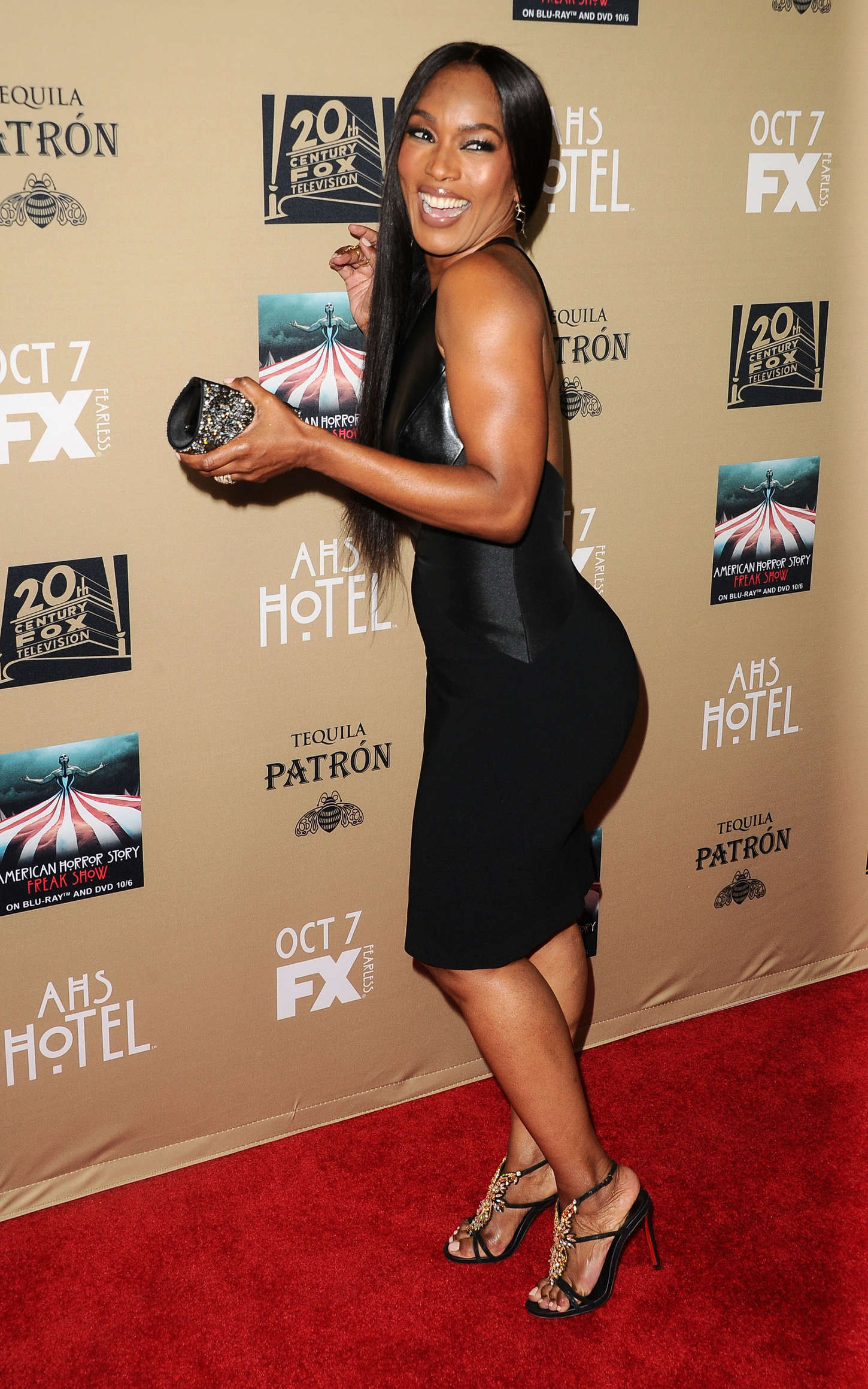 Angela Bassett American Horror Story Hotel Screening in Los Angeles