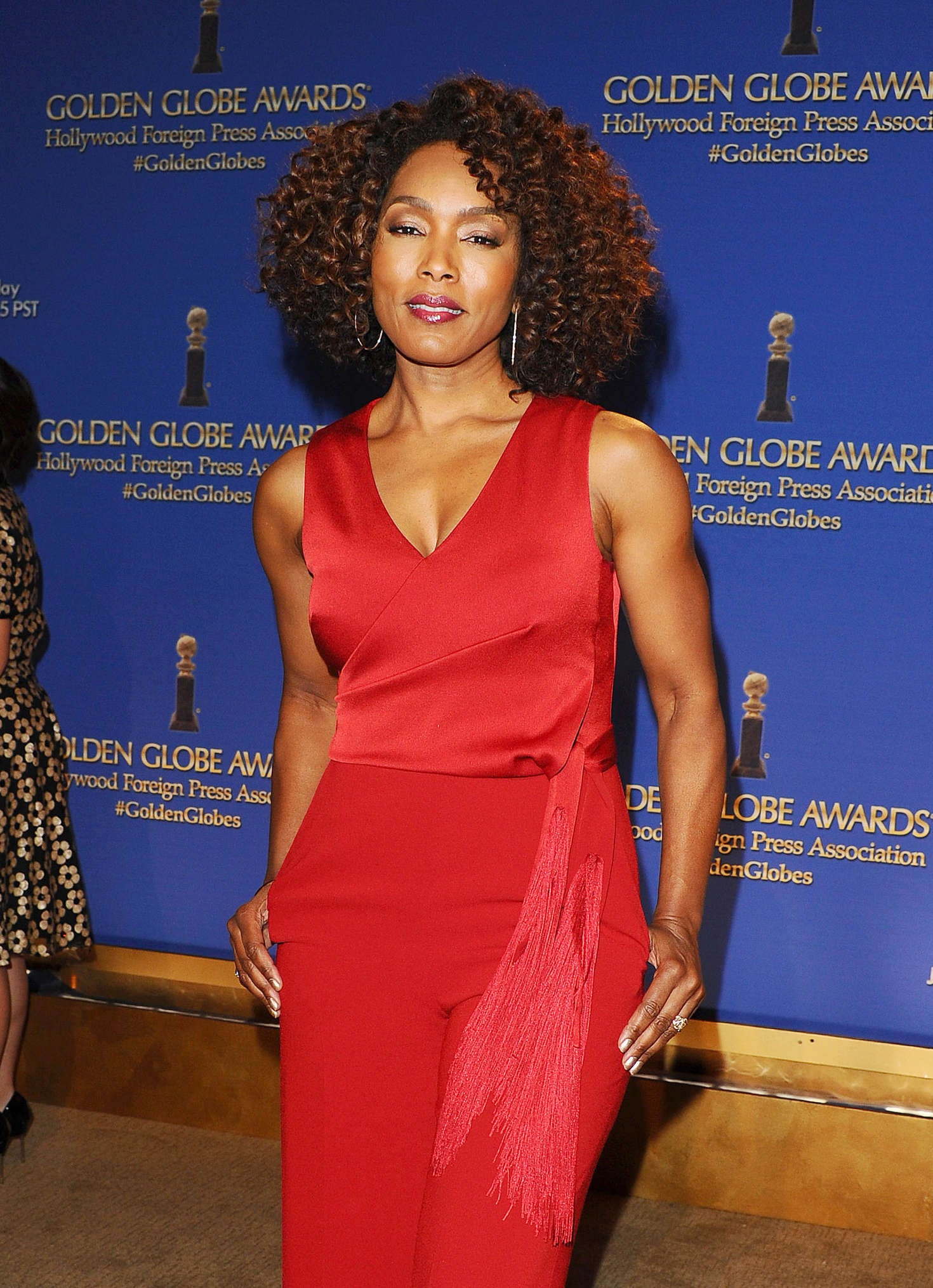 Angela Bassett Annual Golden Globe Nominations in Los Angeles