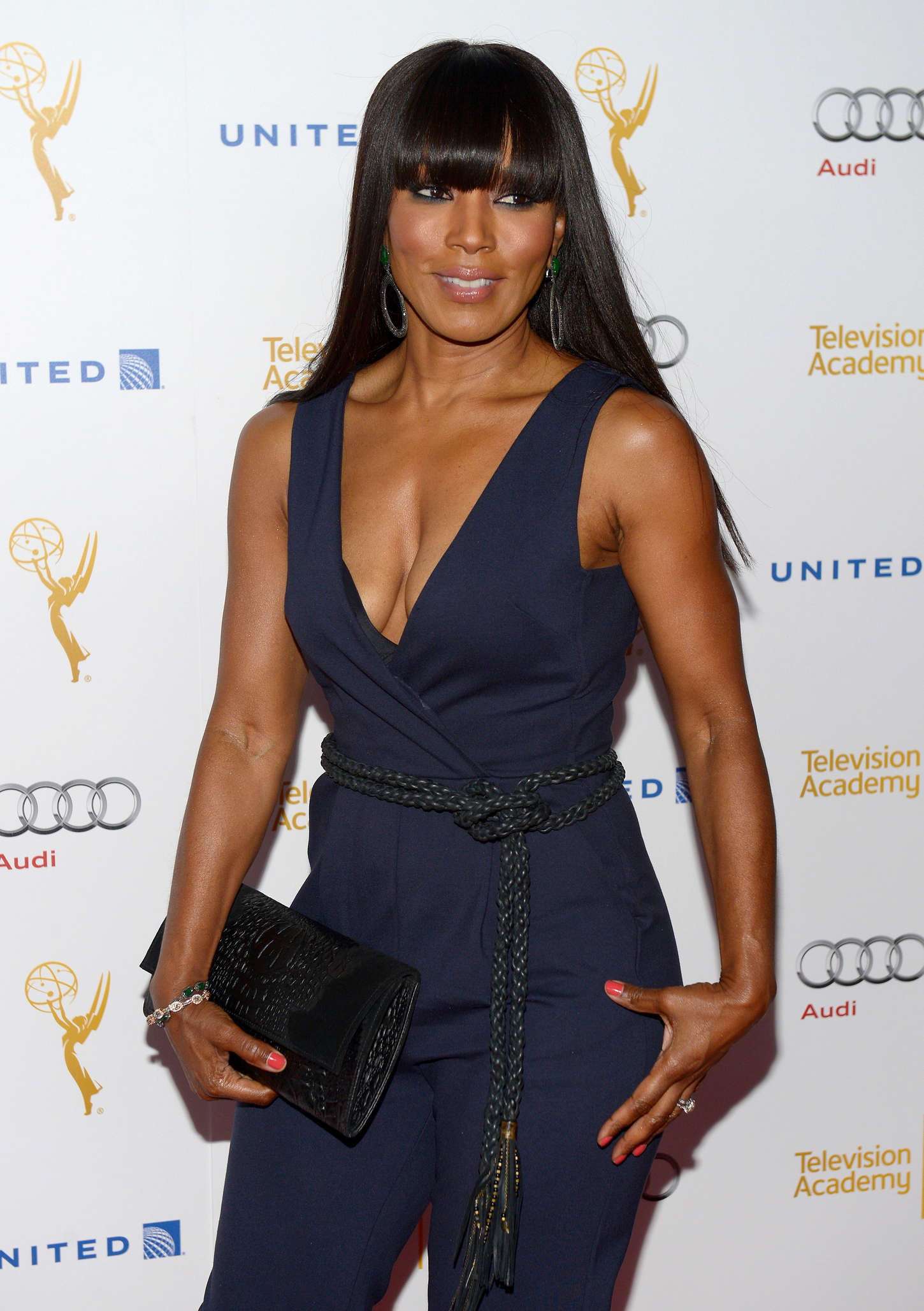 Angela Bassett Emmy Awards Performers Nominee Reception