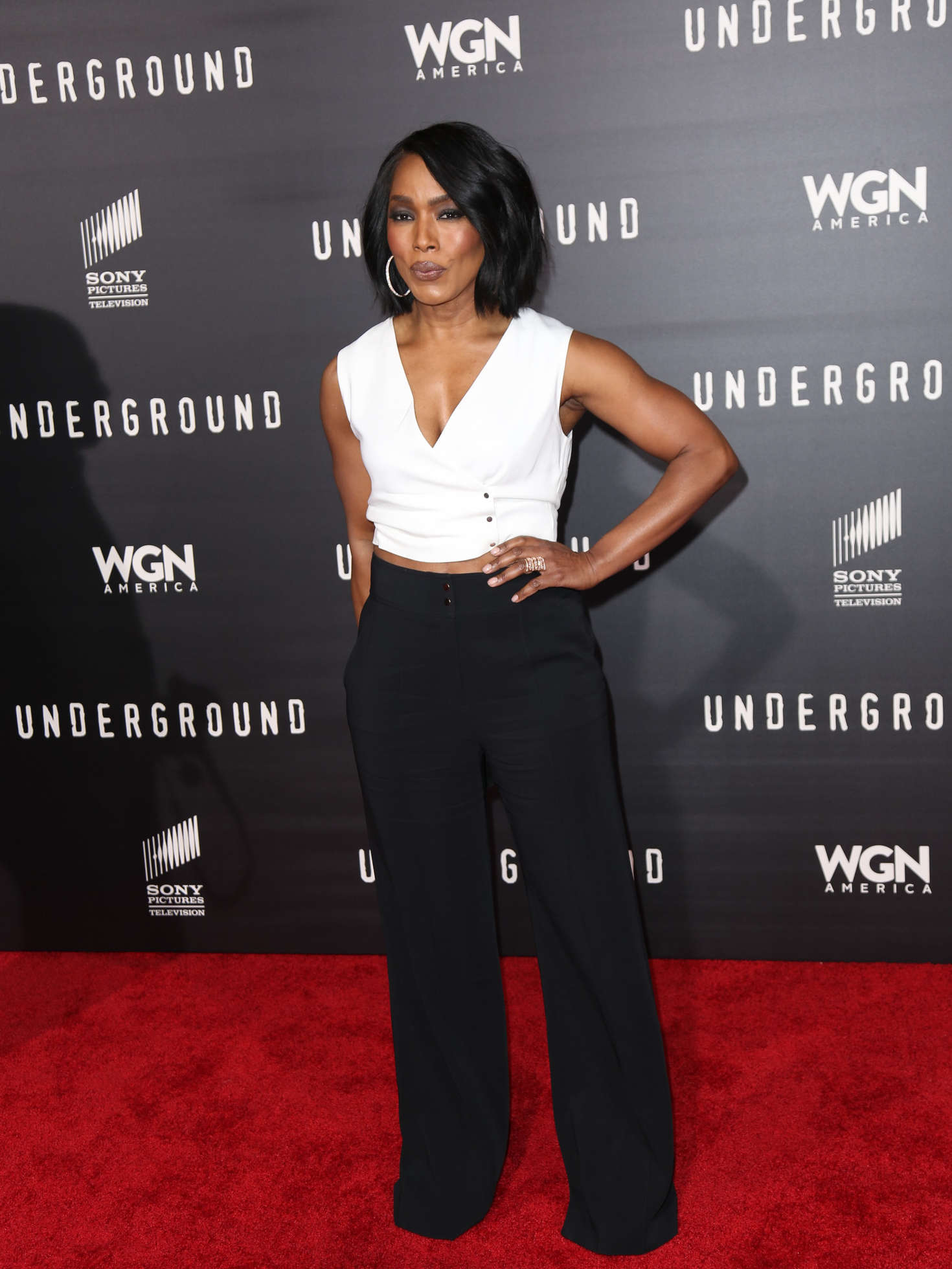Angela Bassett Underground Premiere in Los Angeles