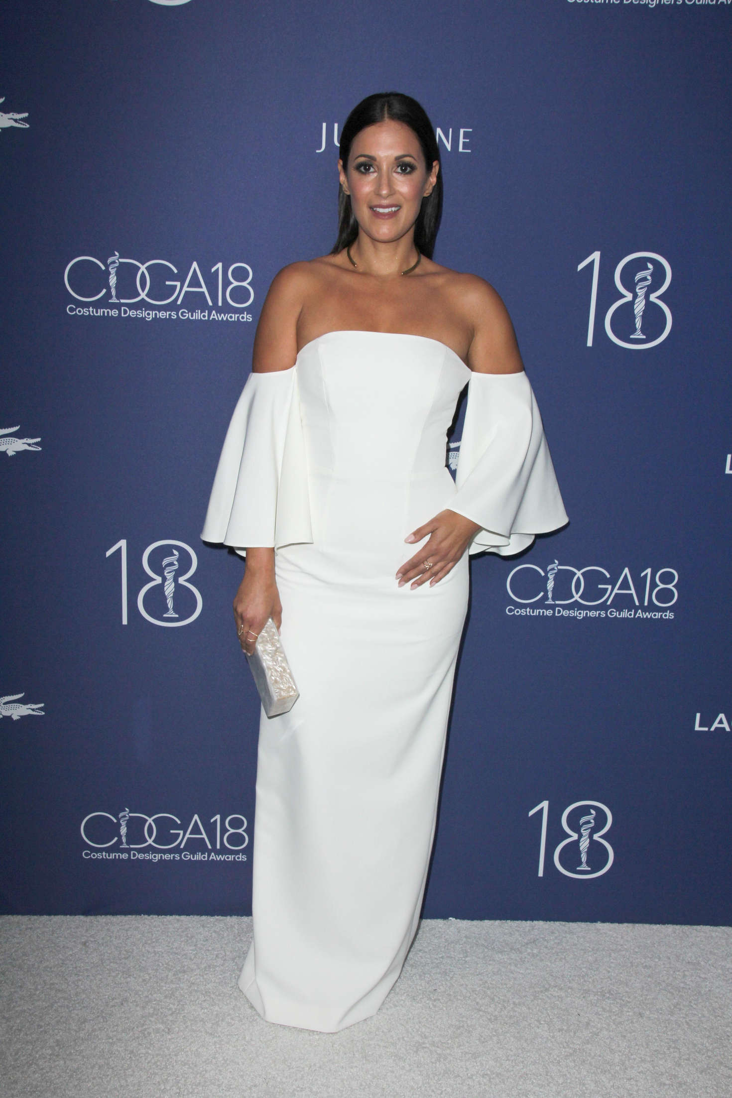 Angelique Cabral Costume Designers Guild Awards in Beverly Hills