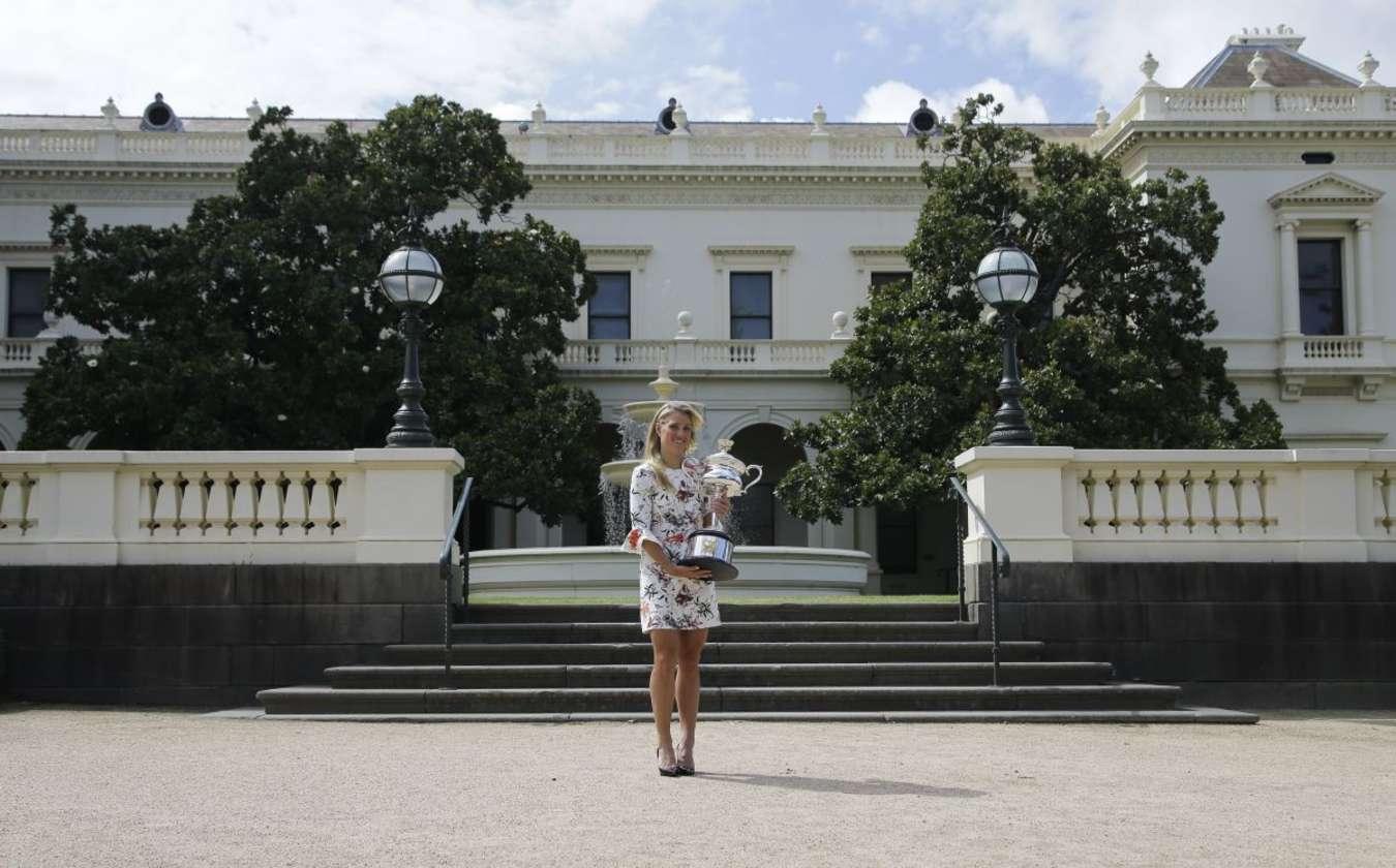 Angelique Kerber Australian Open Photoshoot in Melbourne