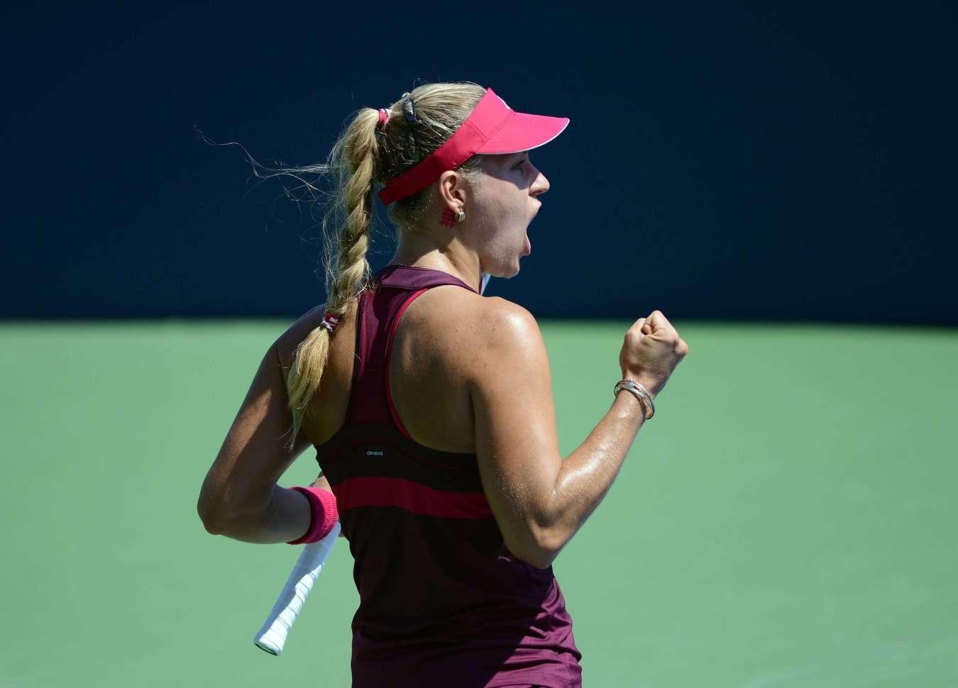 Angelique Kerber U.S. Open tennis tournament in New York