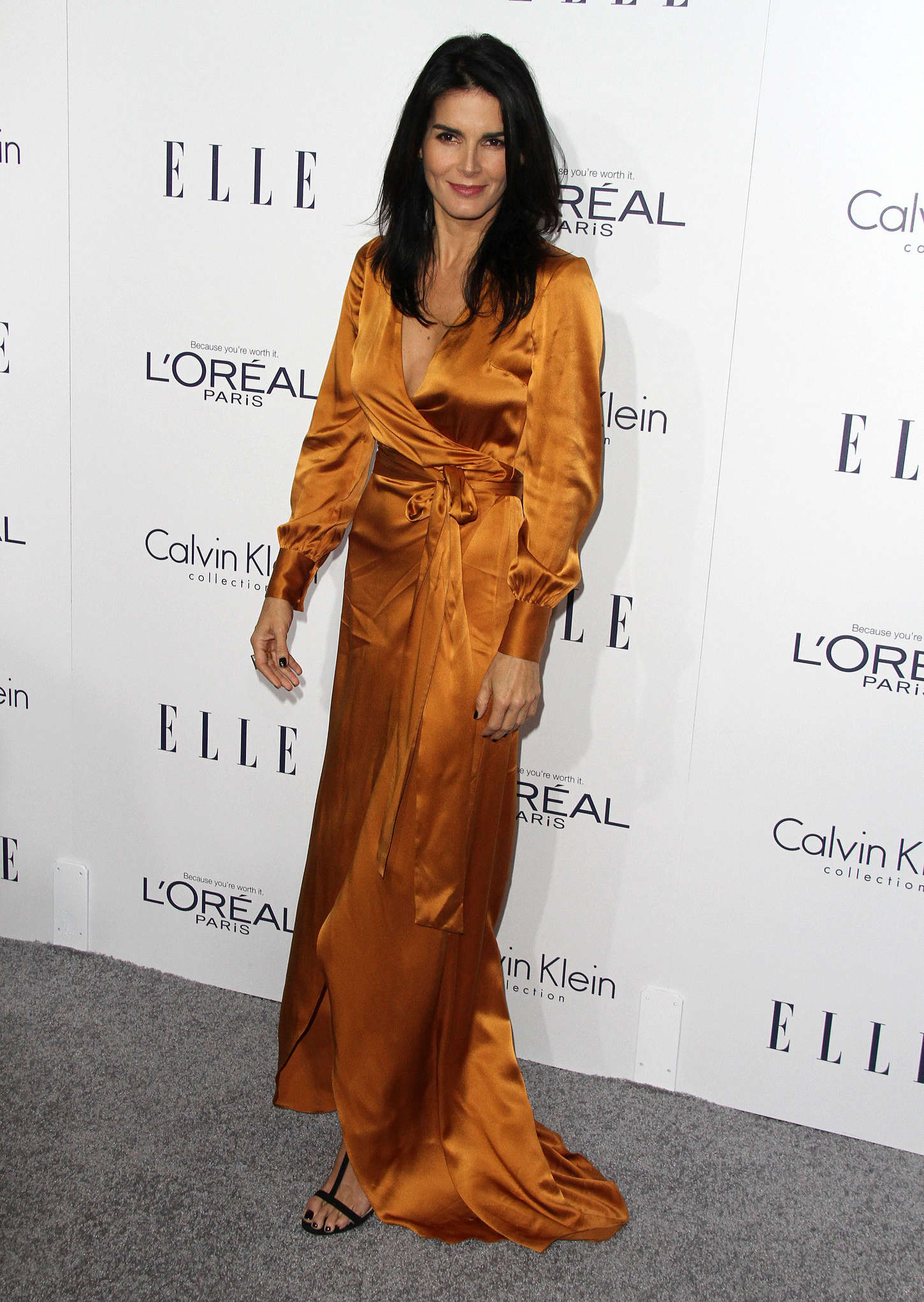 Angie Harmon Annual ELLE Women in Hollywood Awards in Los Angeles