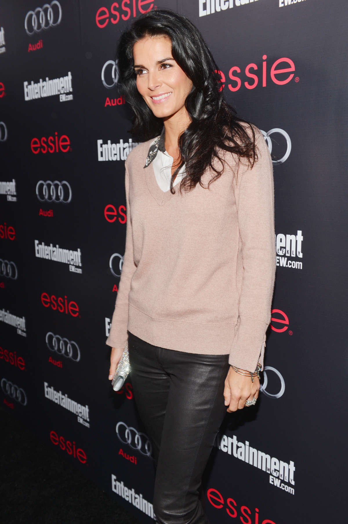 Angie Harmon EW Pre-SAG Party in Los Angeles