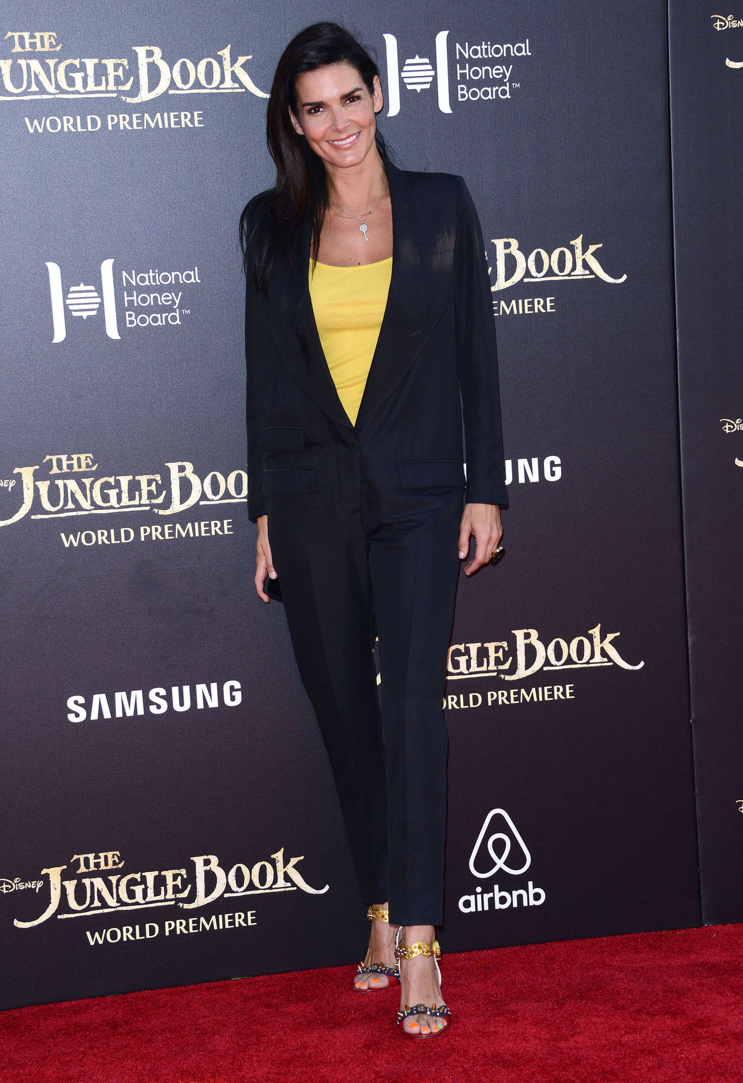 Angie Harmon The Jungle Book Premiere in Hollywood