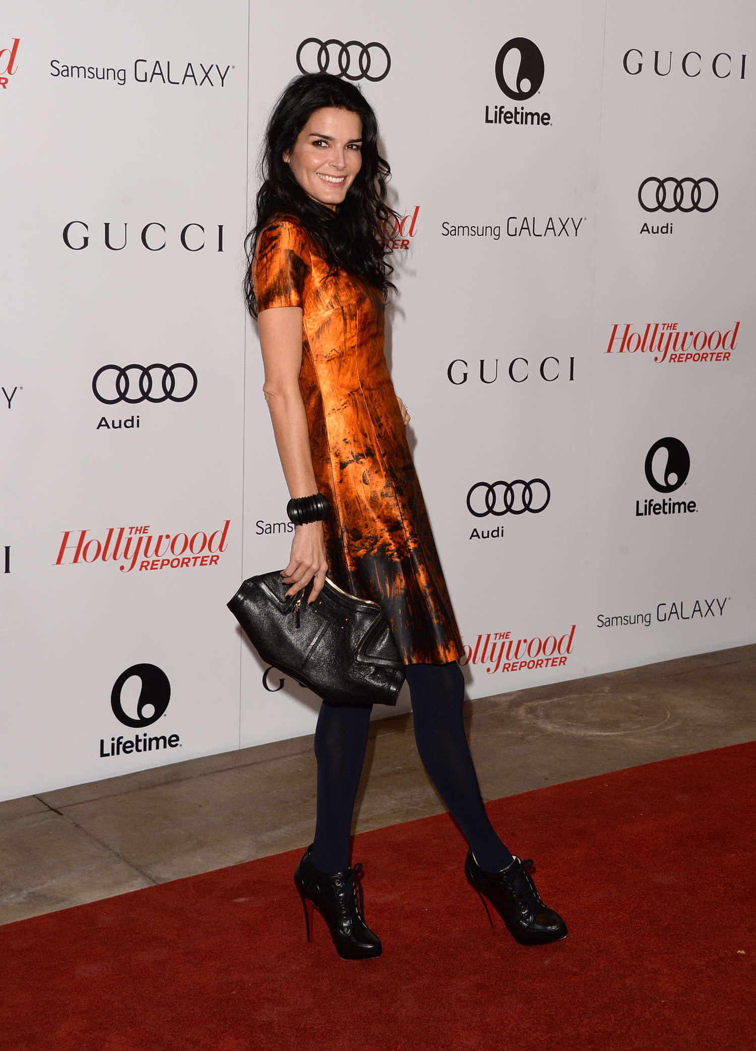 Angie Harmon THRs Women in Entertainment Breakfast in Beverly Hills