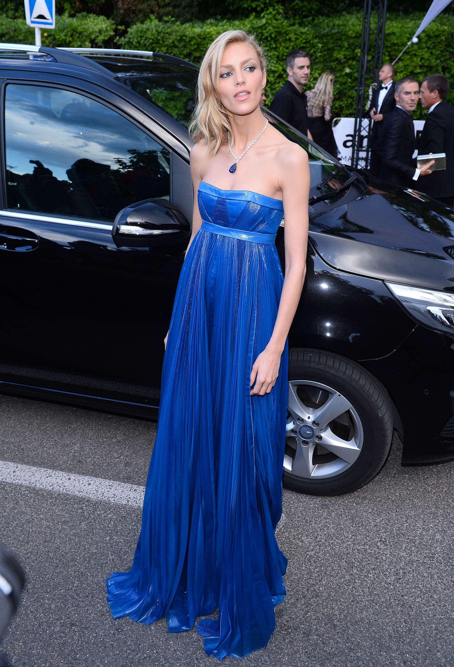 Anja Rubik amfARs Cinema Against AIDS Gala in Cap dAntibes