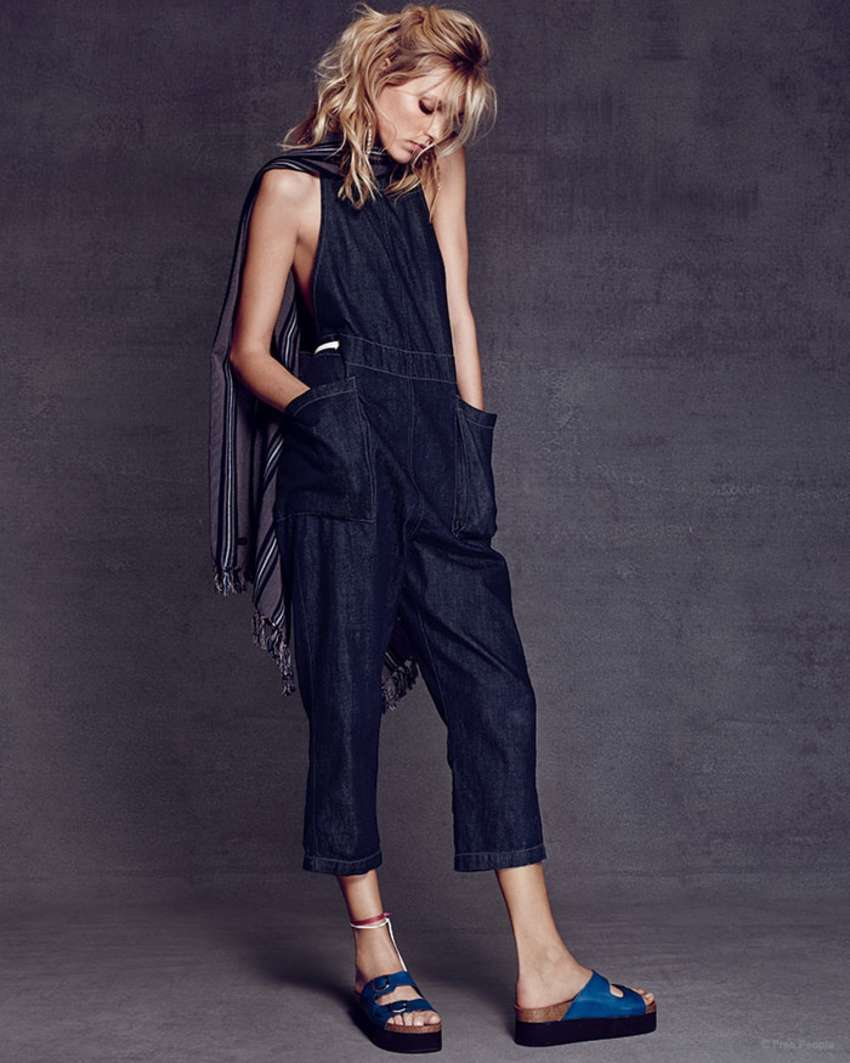 Anja Rubik Free People Resort Collection