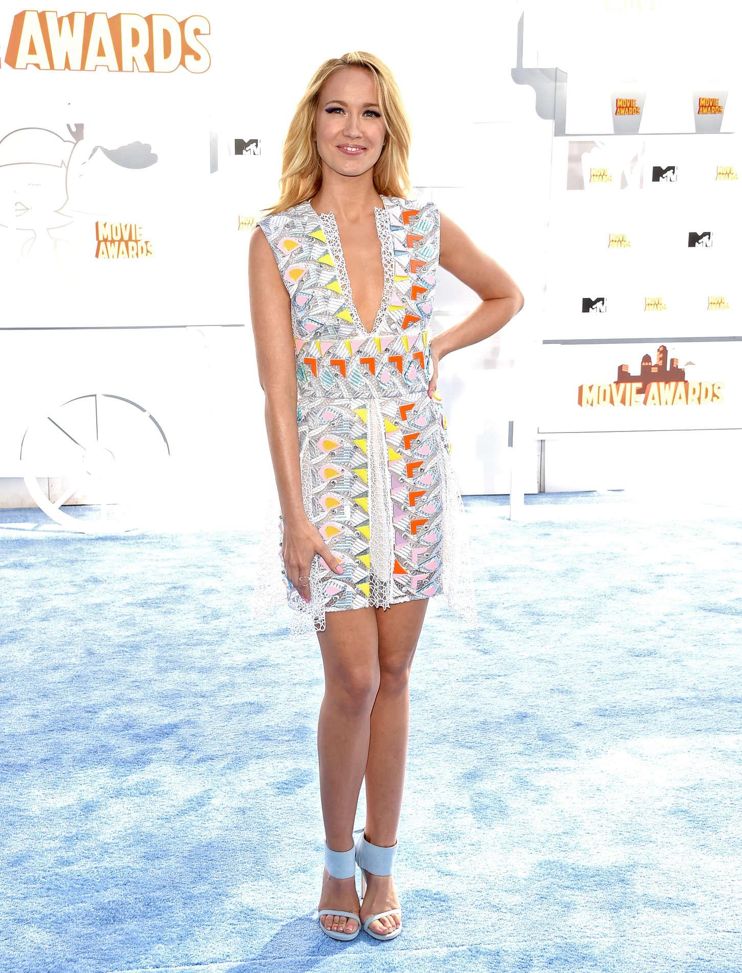 Anna Camp MTV Movie Awards in Los Angeles