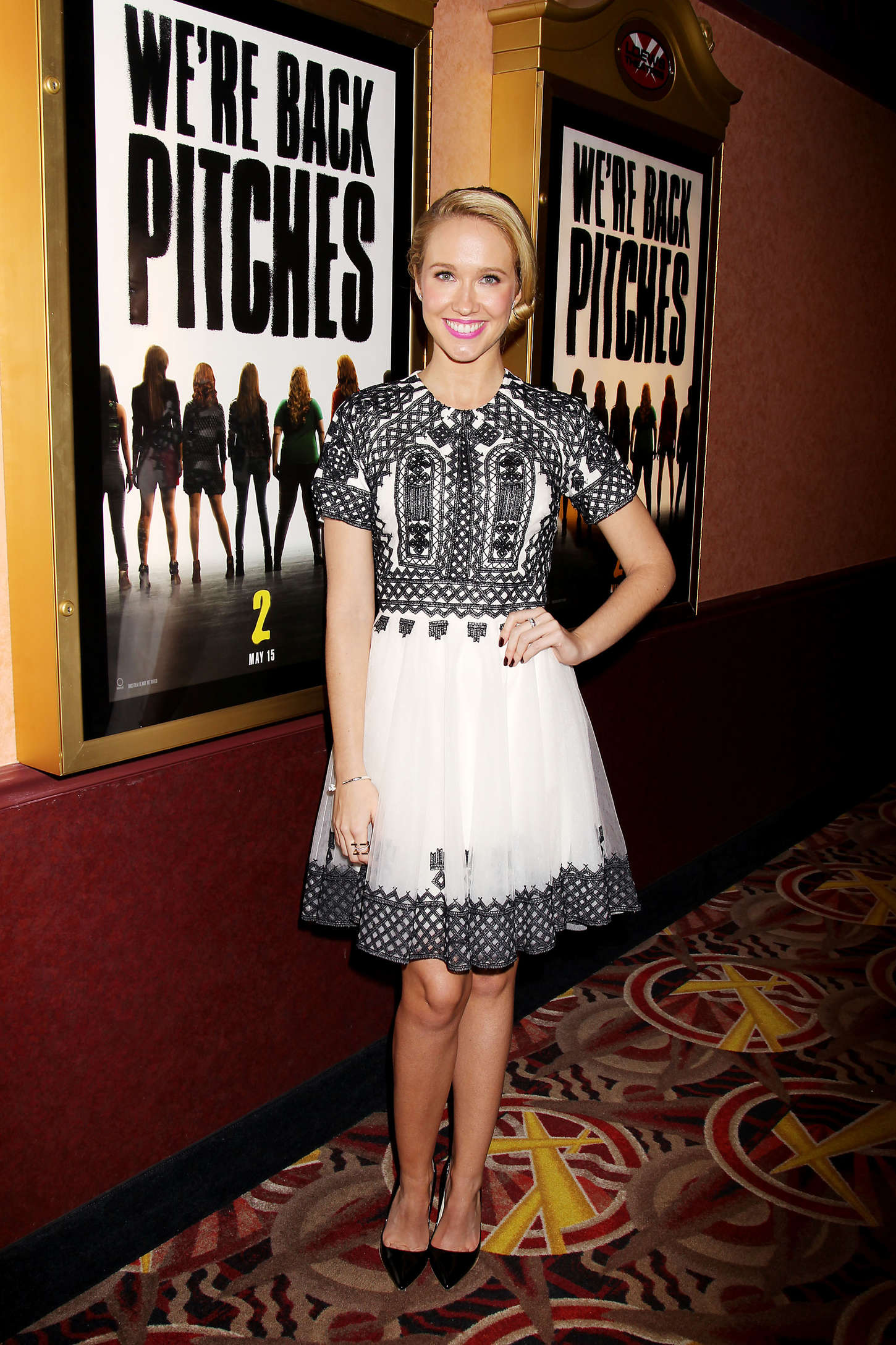 Anna Camp Pitch Perfect Sing-Along Screening in New York