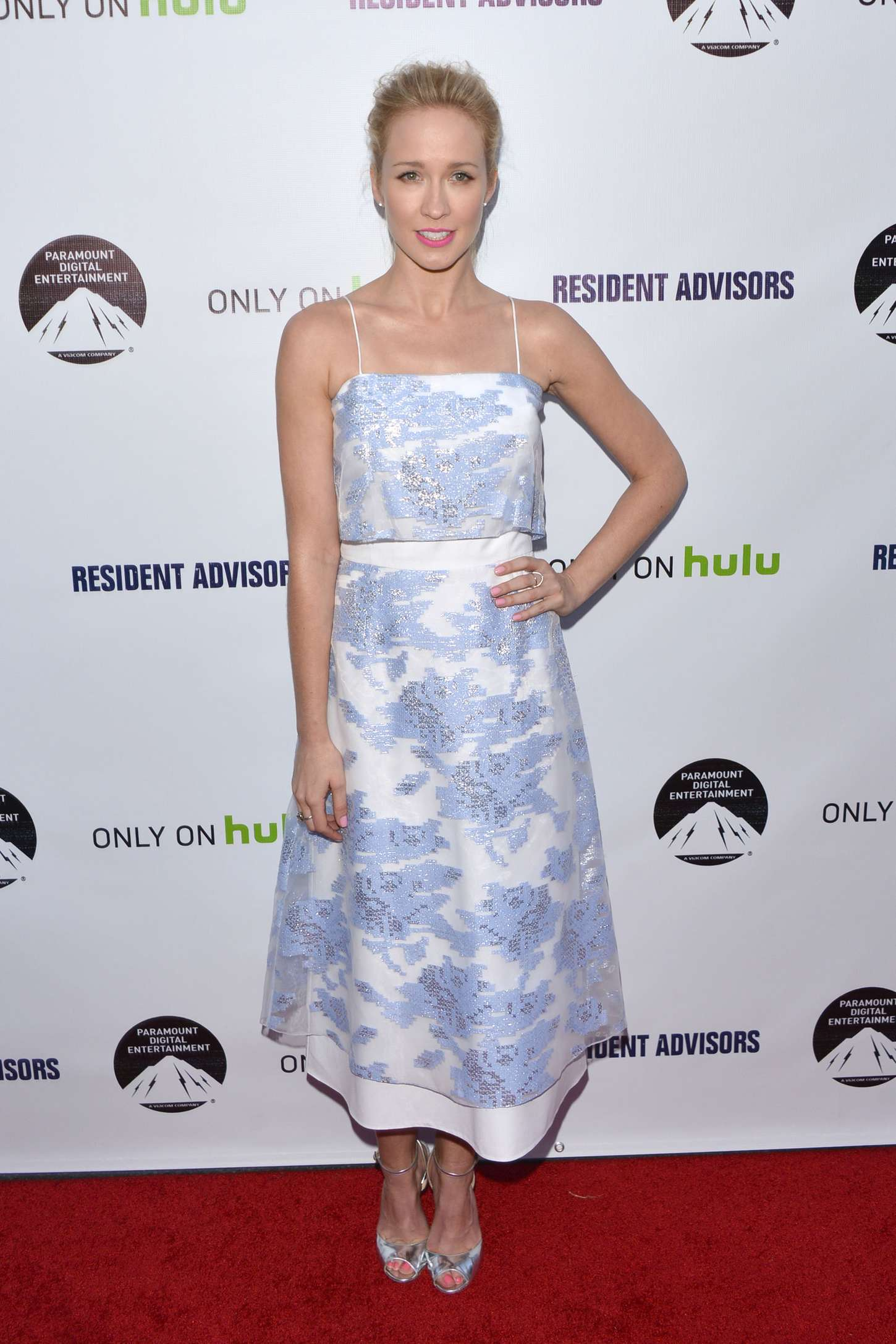 Anna Camp Resident Advisors Premiere in Los Angeles