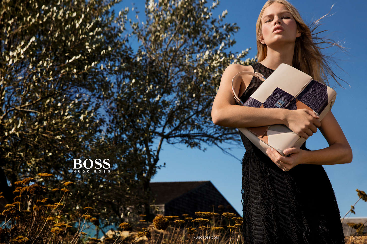 Anna Ewers Inez Vinoodh for Hugo Boss