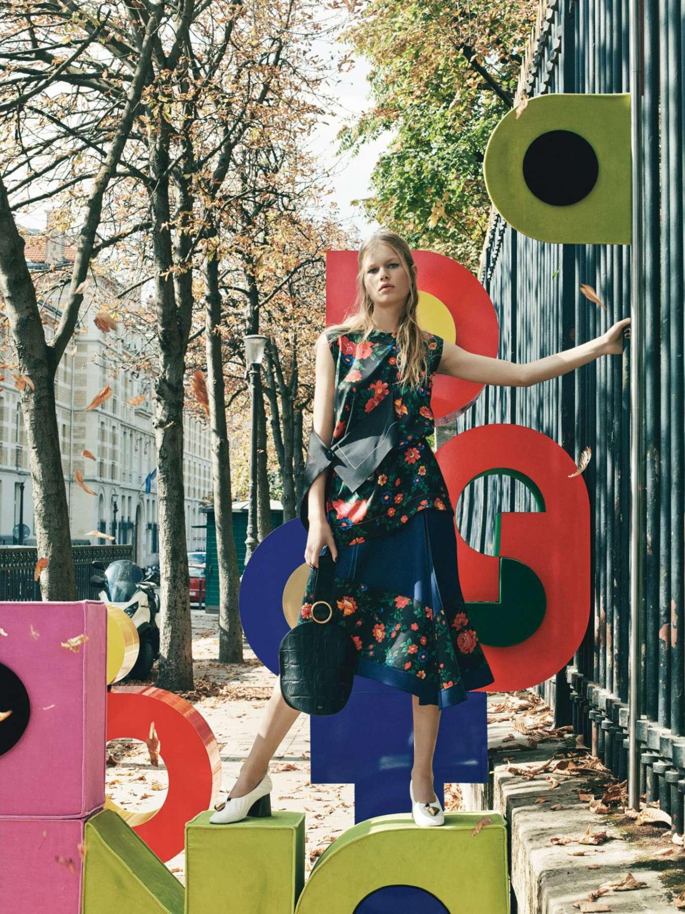 Anna Ewers W Magazine